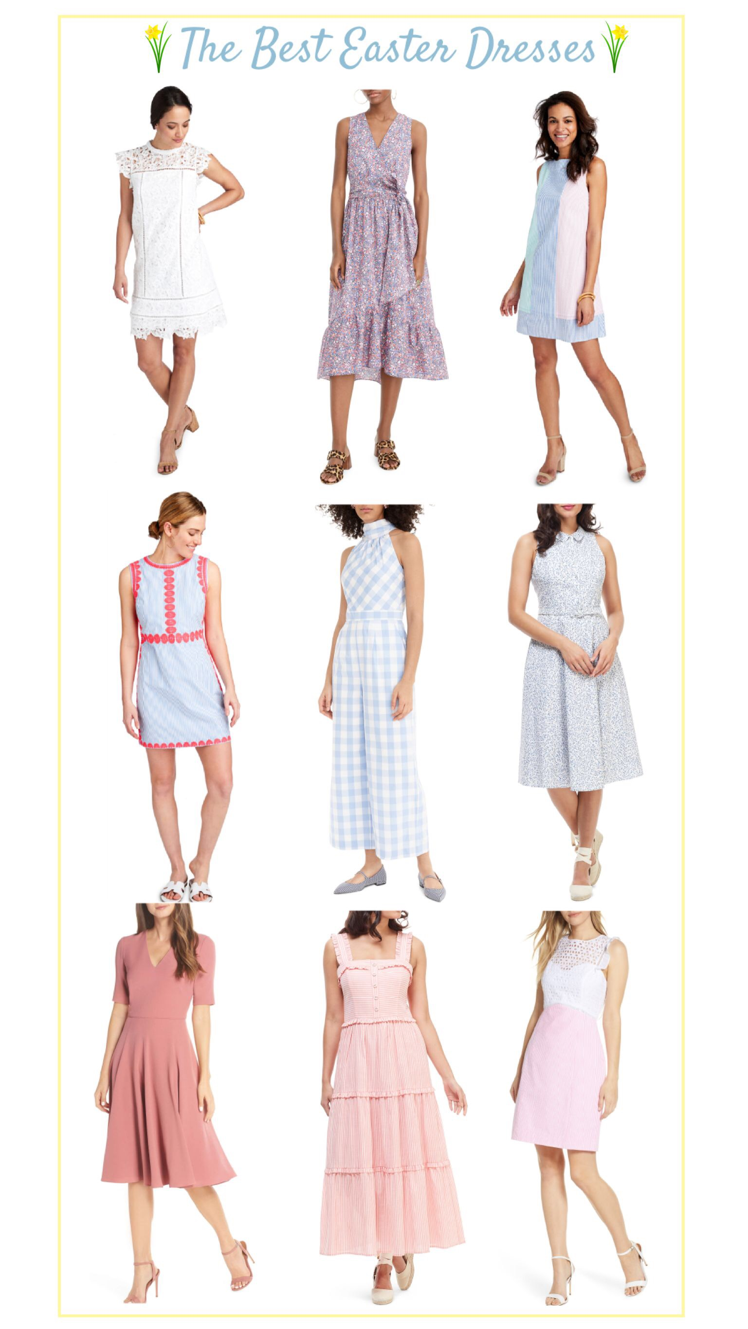 the cutest Easter dresses 2019