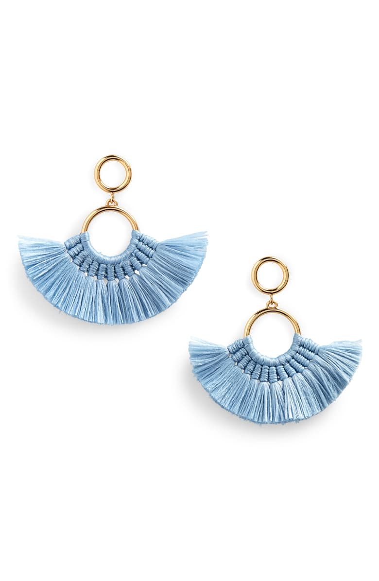 J.Crew fan tassel earrings