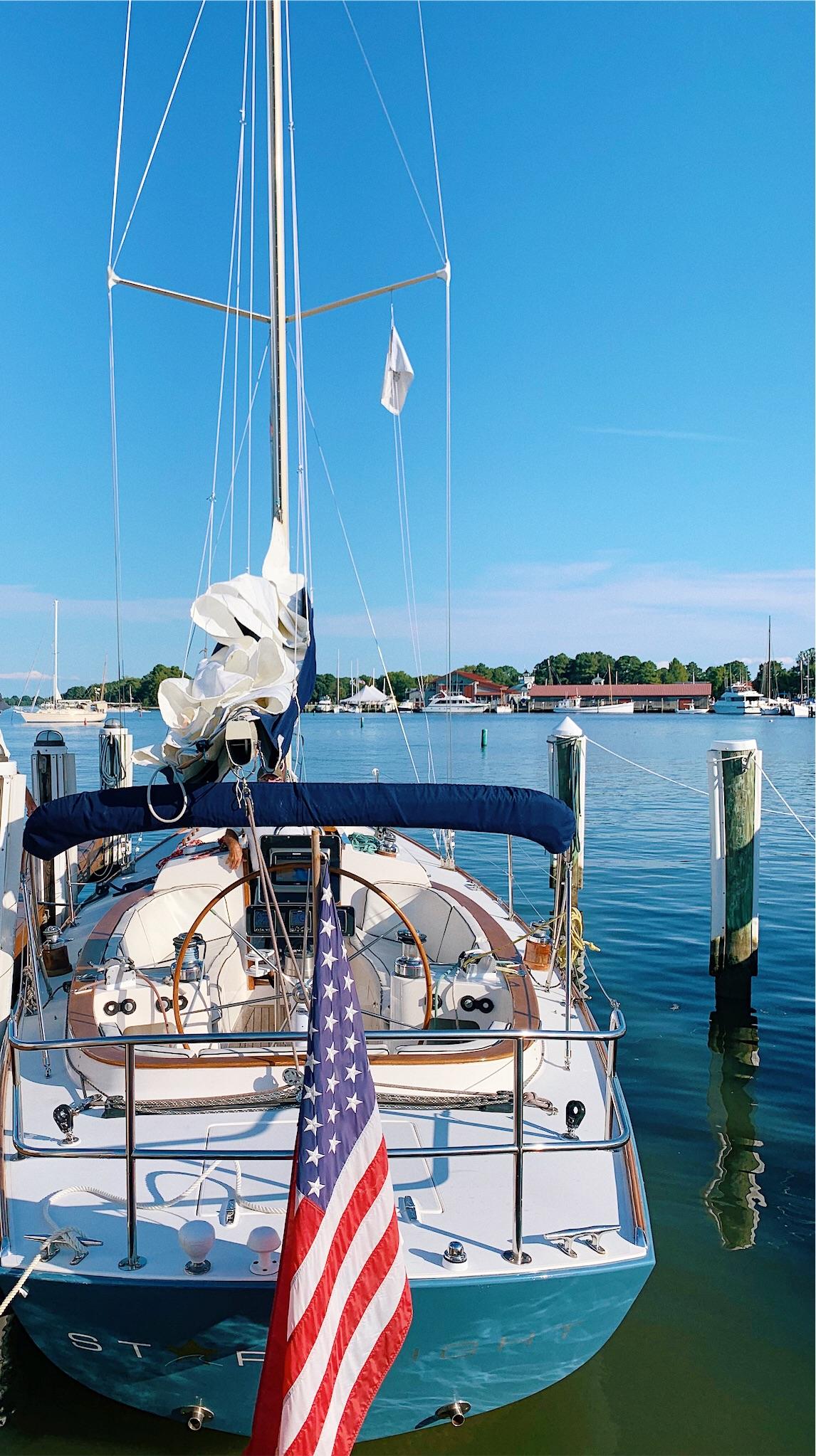 Sailing at the Inn at Perry Cabin