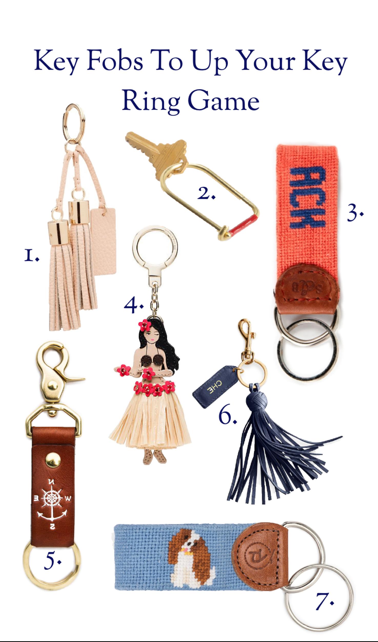 Preppy Keychains