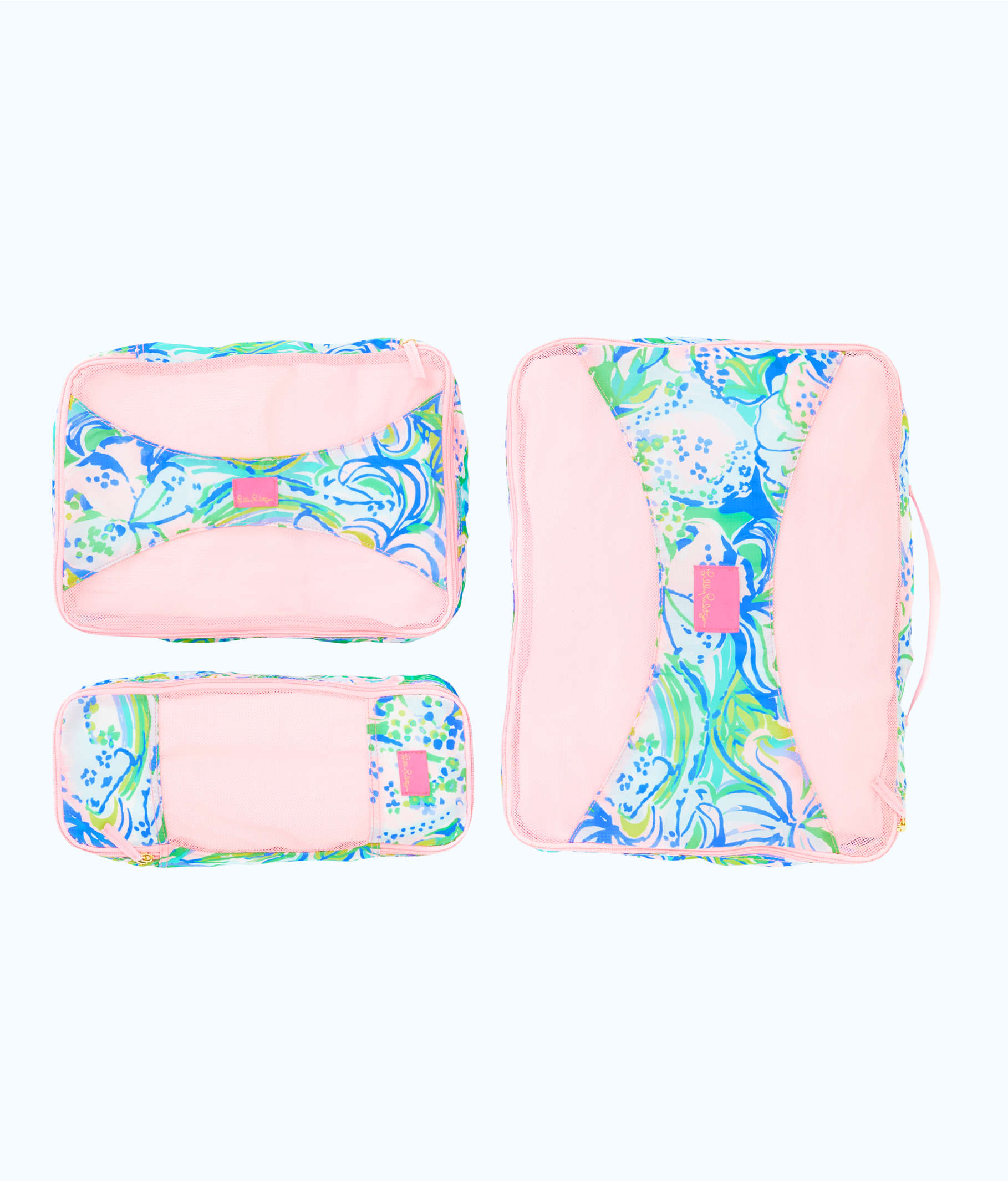 Lilly Pulitzer packing cubes