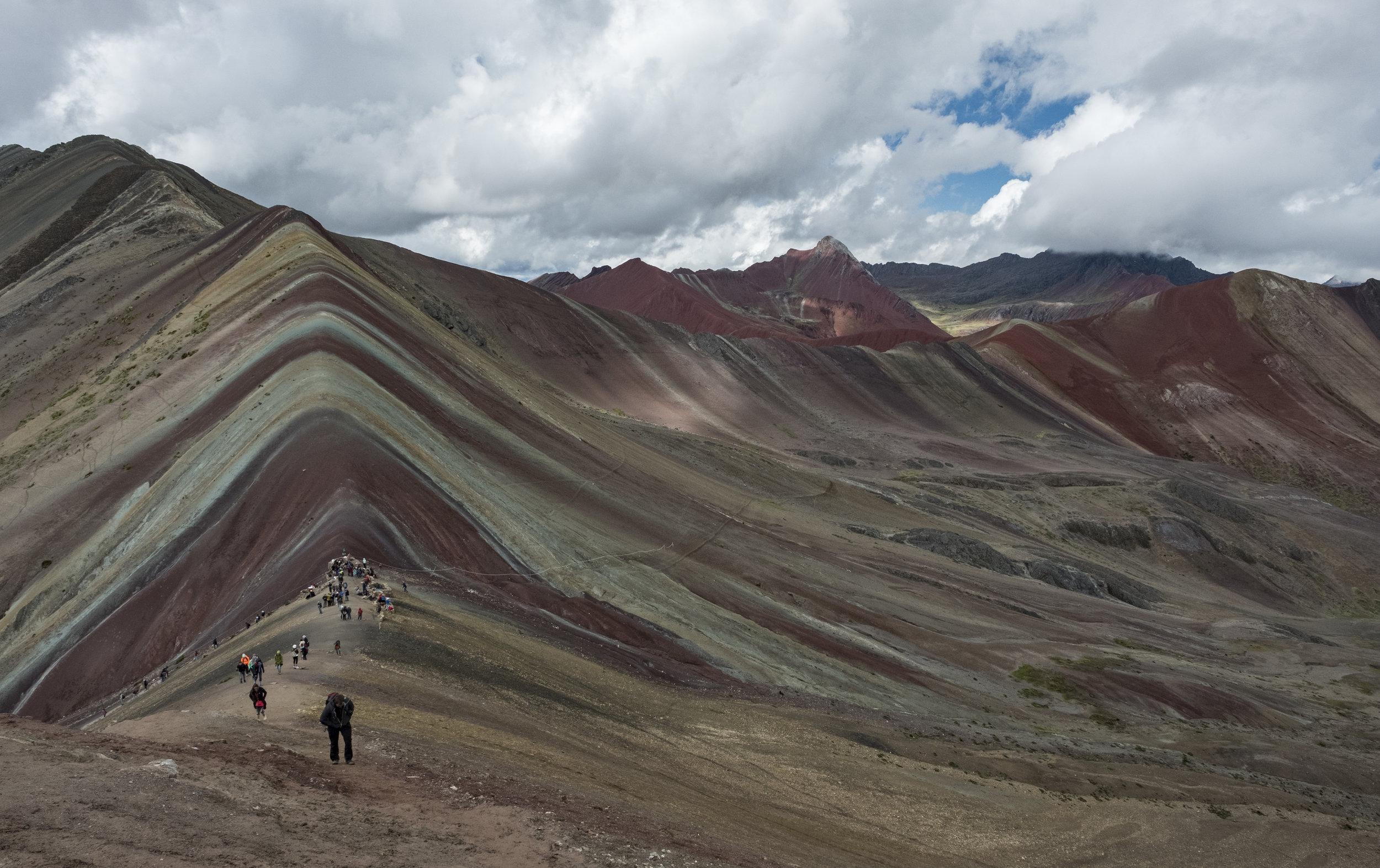 Rainbow mountain & 7 lagoons  - Photo Expedition