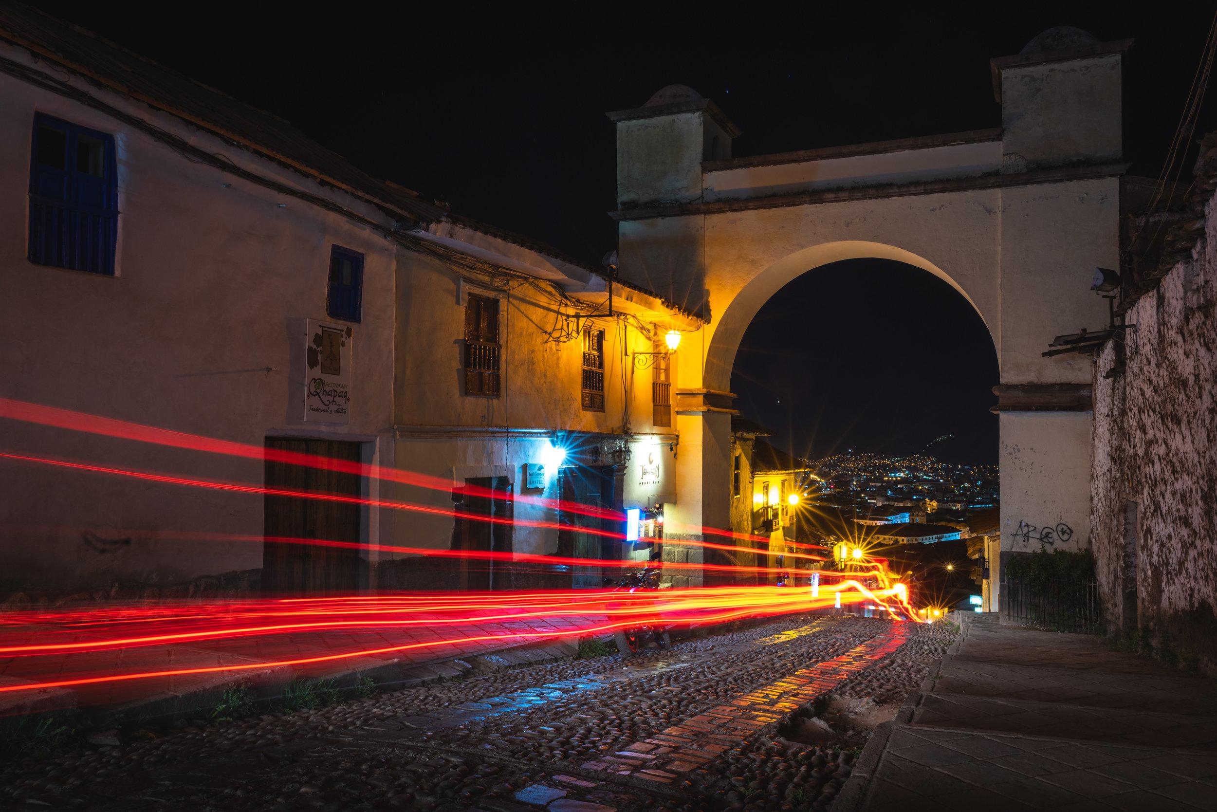 The Arch of Santa Ana