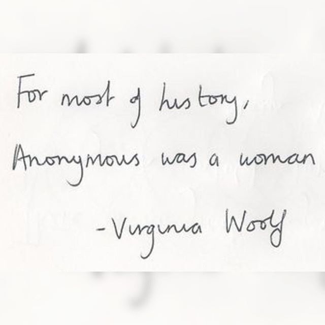 And if she's not anonymous, she pays a heavy price for what she says 😶🗣 #feminist #feminism #womenempowerment #quotes #virginiawoolf #womenwriters #womenwritersofig