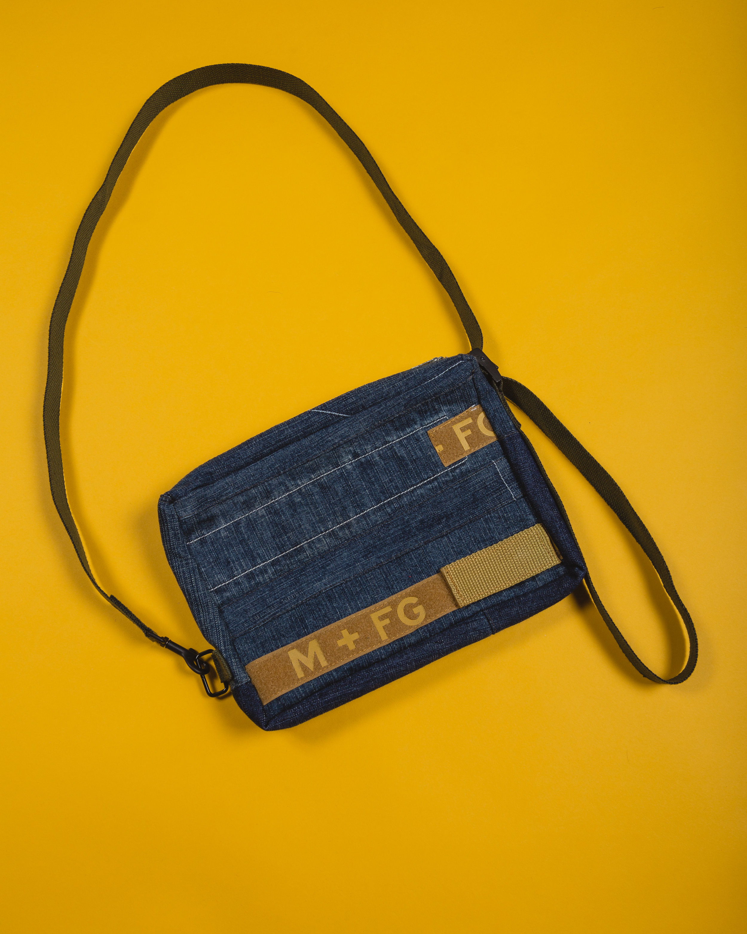 Girbaud Side bag - 1 of 2 pieces made from this pair of Girbaud jeans, the other being a backpack