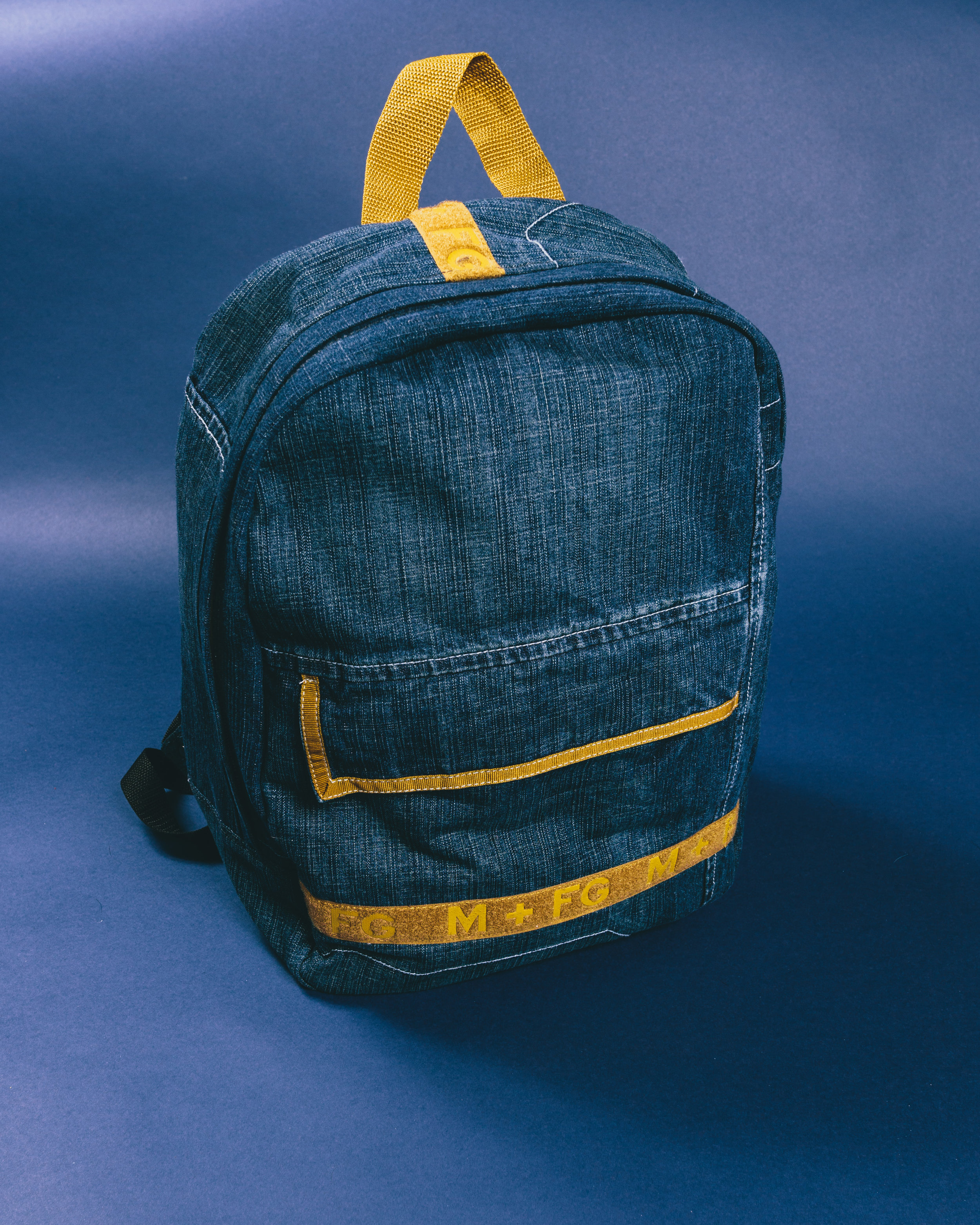Girbaud Backpack - Made from a pair of baggy jeans from the brand Girbaud