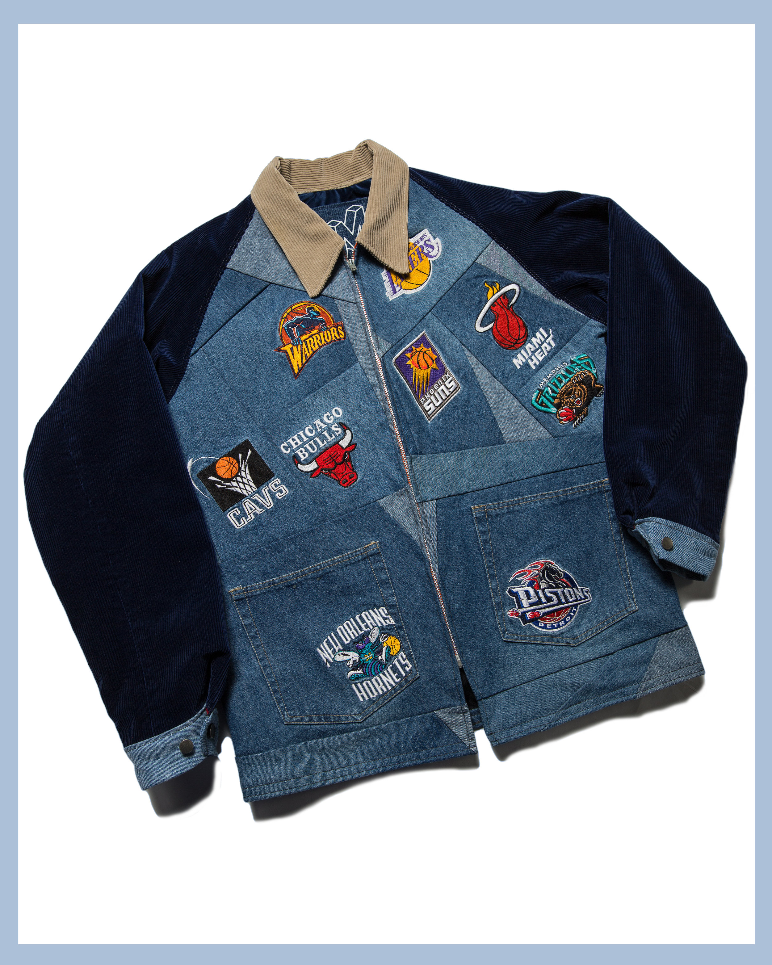 NBA Jacket - Reconstructed from a pair of UNK denim