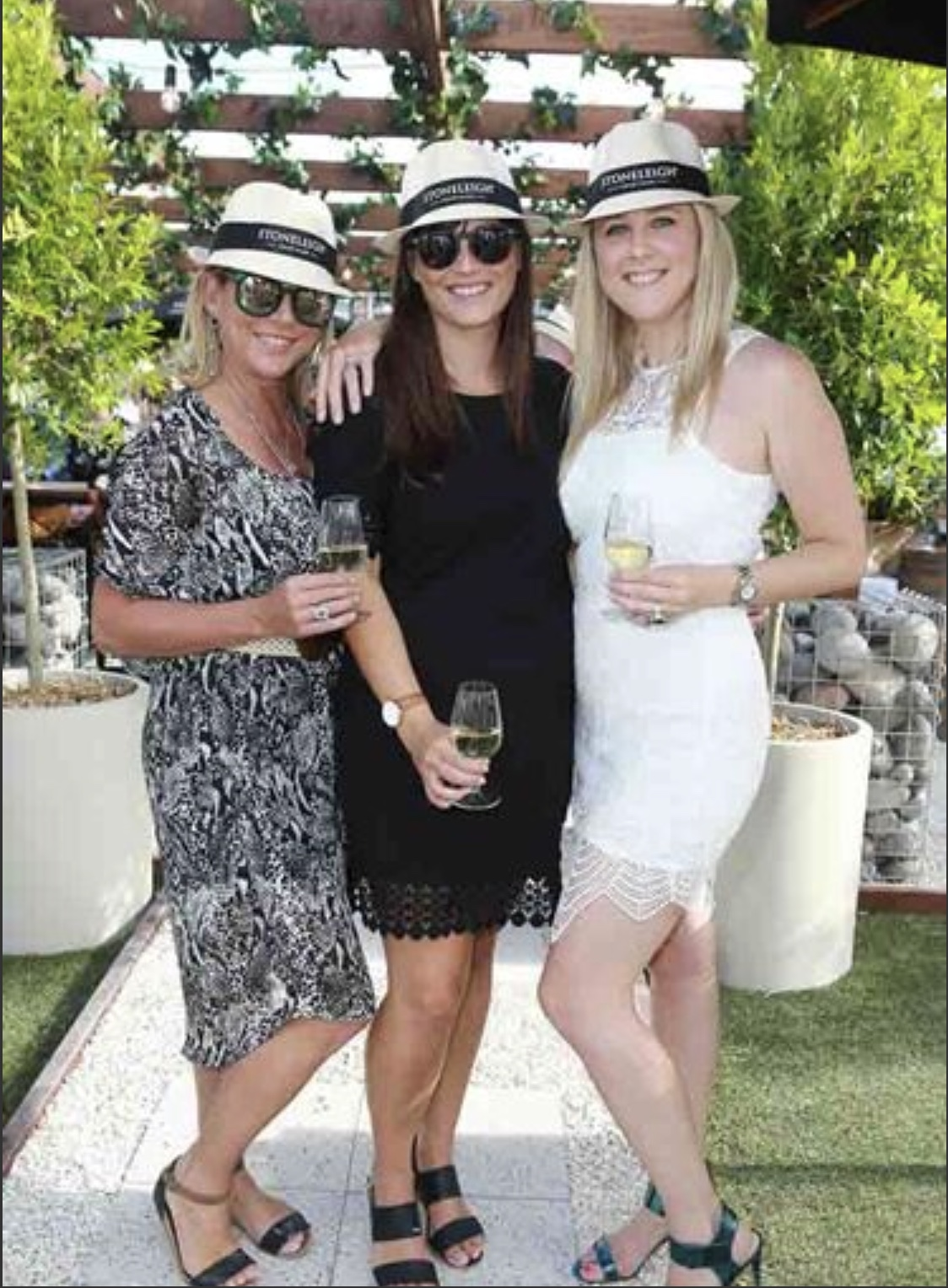 Trudi Nelson (Fresh Factory), Kylie Robertson (Pernod Ricard) & Me    Photo: Norrie Montgomery