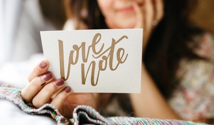 Just a little love? - Our classic love notes are back in stock!