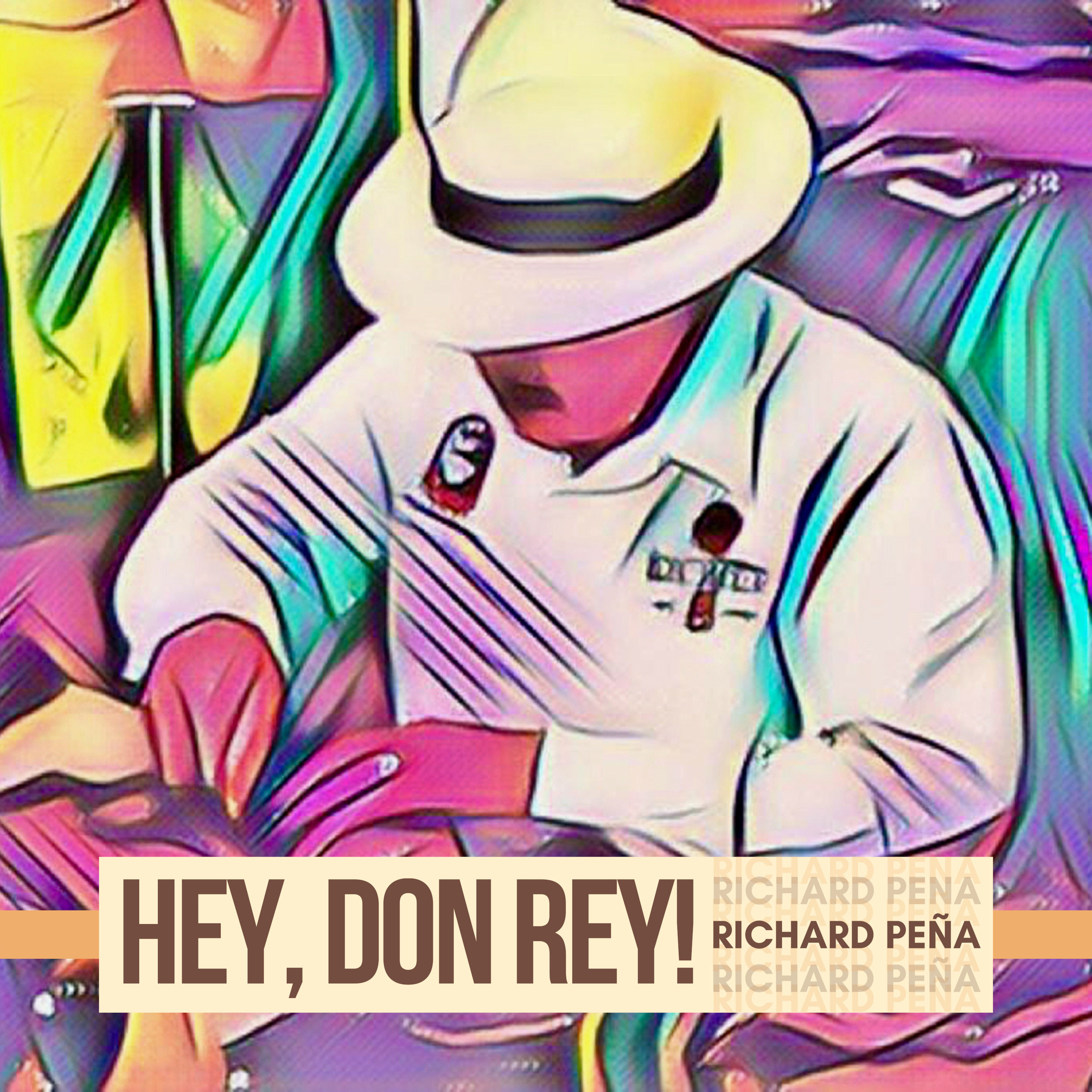 "Hey, Don Rey! (Album) - Dedicated to Richard's father, ""Hey, Don Rey!"" is a powerful view of the Latin side of jazz guitar. With an astonishing blend of the traditional sounds of Latin music, the modern colors of post-bop/fusion jazz and the warm sound of the guitar, Peña delivers a refreshing pallet of melodic and harmonic ideas that renews the role of the guitar in the tradition of Latin Jazz."