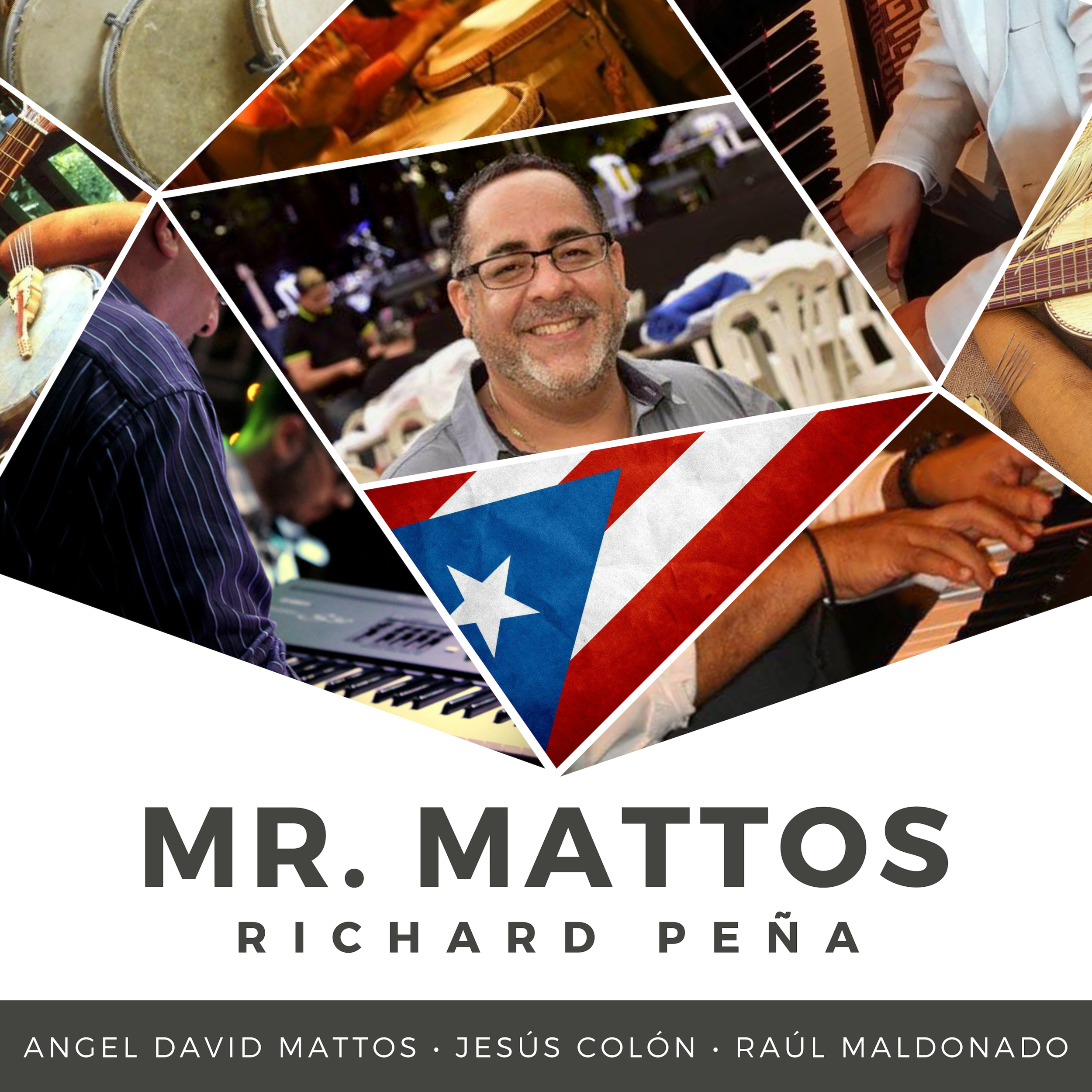 Mr. Mattos (Single) - Dedicated to one of Puerto Rico's best jazz pianist, Angle David Mattos,