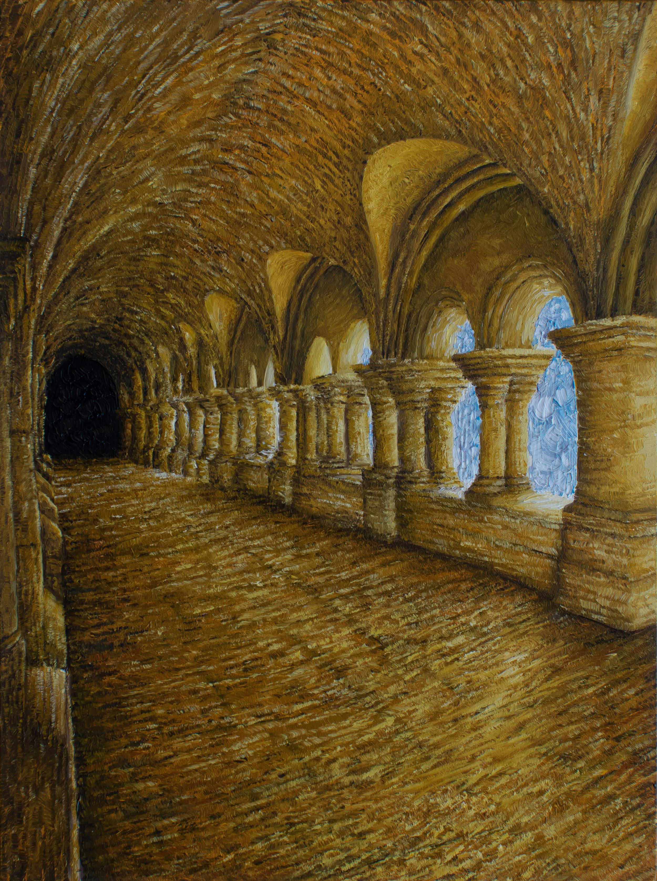 Cloitre, Abbaye de Fontenay
