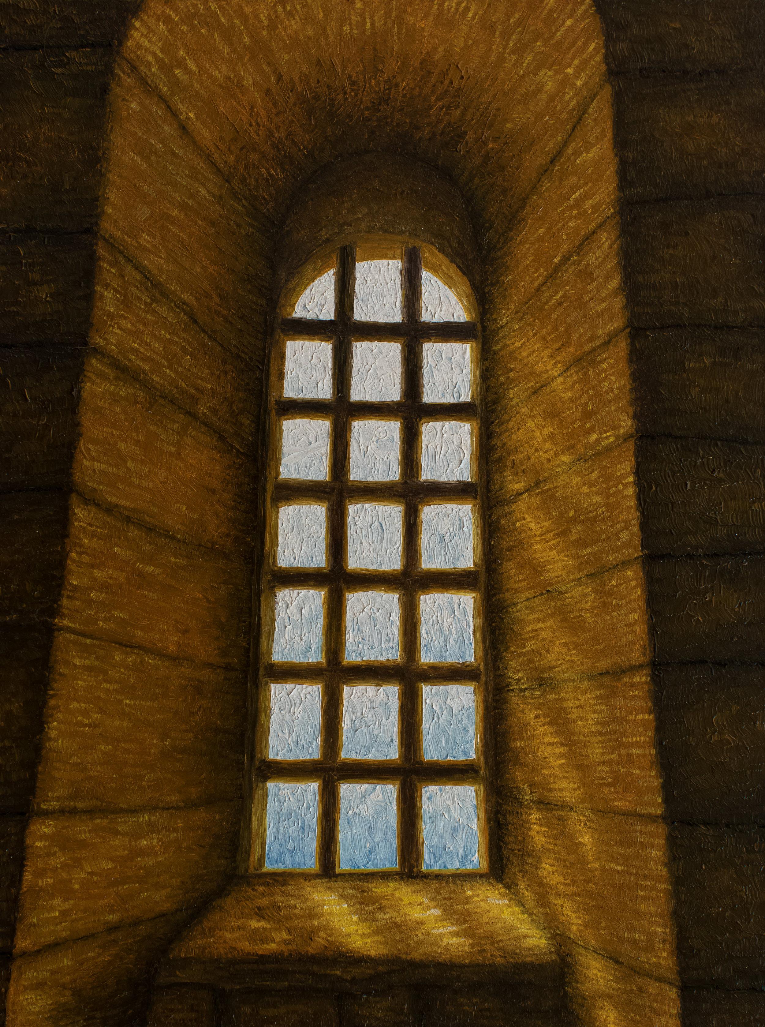 Fenêtre d'Eglise, Abbaye de Fontenay