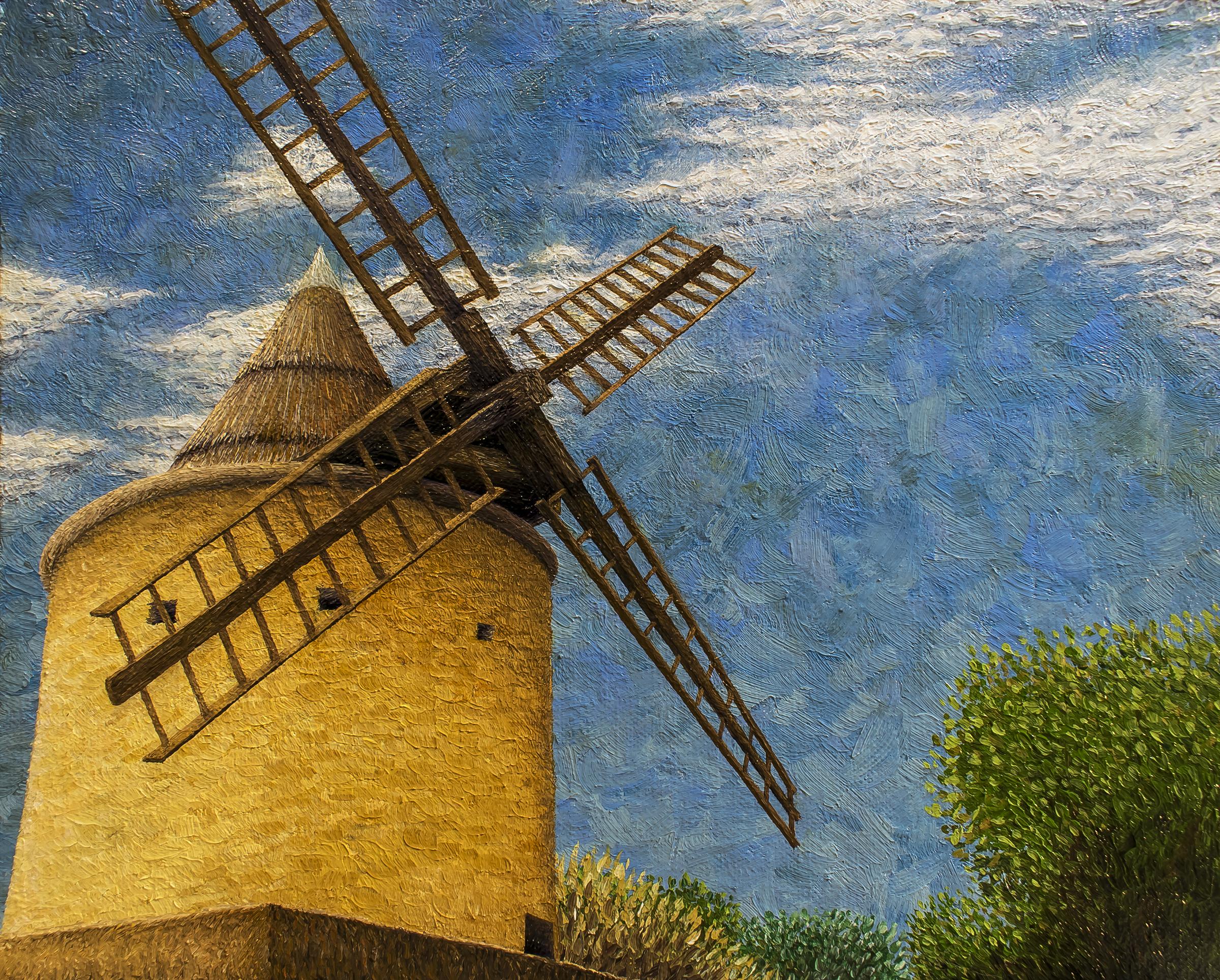 Moulin à Vent à Goult