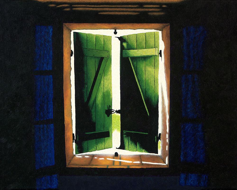 Through the Bedroom Window