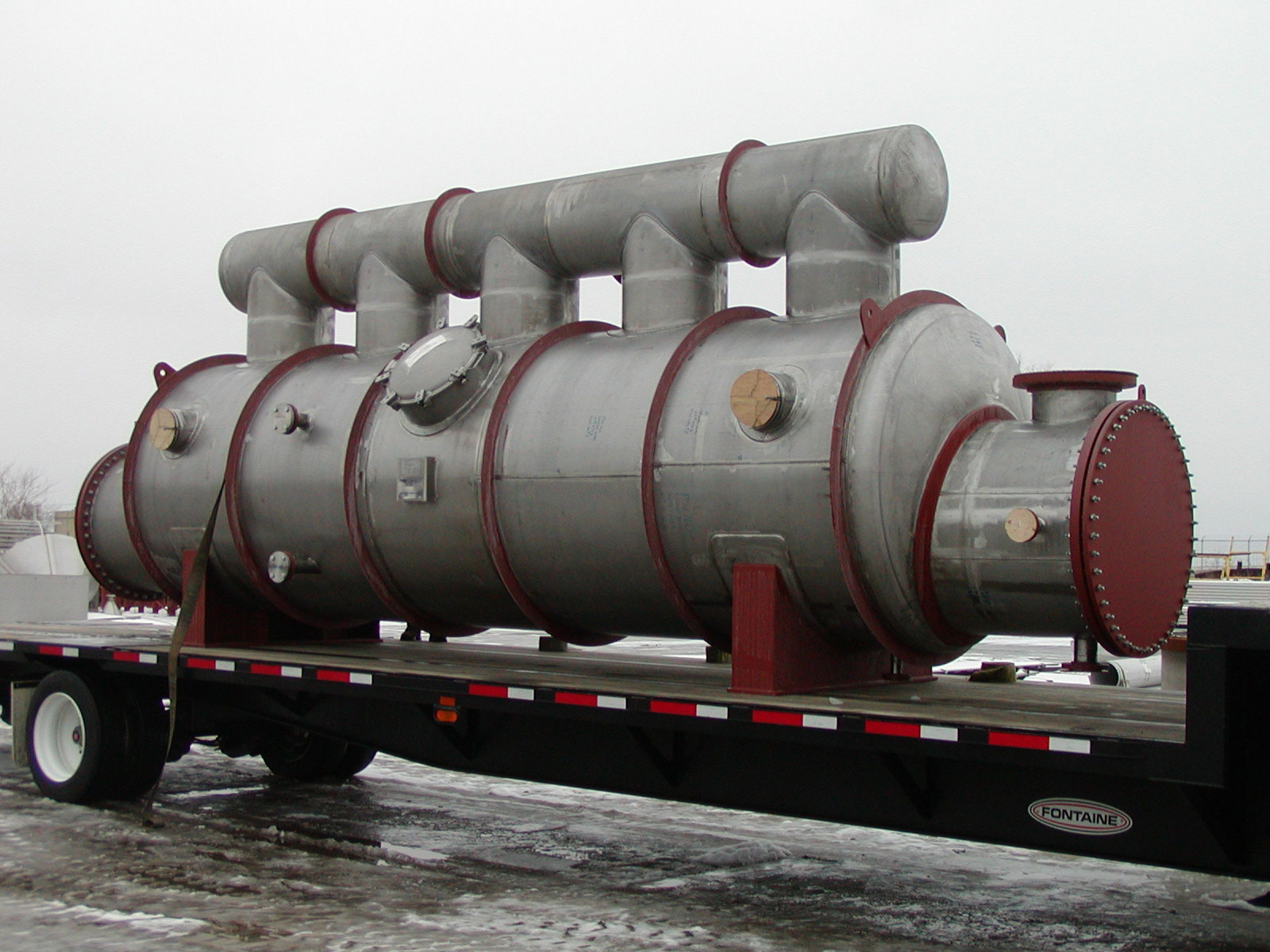 Specialized Stainless Steel Shell and Tube Heat Exchanger