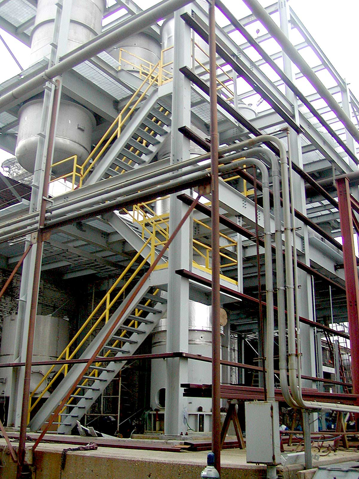 Pro-Fab Designed and Installed Process Structure