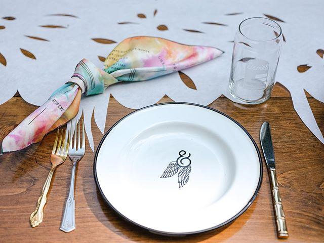 We were excited to reveal our brand new Bacon & Lox Society special edition enamelware plates this past weekend, designed by @rabbitrabbitcrew. We look forward to the many shared meals to come on these beauties. 📷 @alisonconklin #blscreekdinner  Alisa Tongg, Celebrant, Founder + Producer, @alisatongg | Nicole Hutnyk, Visual Direction, Planning & Invitation Design, @rabbitrabbitcrew | Sarah Petryk, Floral Installations & Visual Direction, @alliumfloraldesign | Alison Conklin, Event Photographer, @alisonconklin | Christian Lopez, Film, @dearlybeloved.weddings | Karina Puente, Papel Picado Installation, @karinapuentearts | Abundat Inc, Custom Builder, @abundat_inc | Hand Sawn LLC, Communal Tables, @handsawn| Chippy White Table, Creek Seatings and Lounges, @chippywhitetable | Rob Yaskovic, Water Portraits, @robyaskovic | Chefs: Andre de Waal @dewaal_a , Mike Carrino @mikecarrino and Brandon Grimila @brandongrimila | Promise Ridge, Venue, @promiseridge | Ken Jones Jr. X Two Paper Dolls, Menu Napkins Collaboration @thisbeautifullifellc @tpddesignhouse | Jason Lonigro, Atomic Cocktail Experiences, @cocktailatomic | Tia Jones, Glow & Glisten Station, @merakibeautyllc | Chef Erika Urso, Ice Pops at Promise Ridge, @lovebitesbyerika | Honeywatts, Live Music, @_honeywatts_ | Ken Jones Jr., Activation Station, @thisbeautifullifellc | Shawnee Craft Brewery, @shawneecraftbrewingco | Local Flower Growers @periwinkleflowerfarm X @florestemporis |