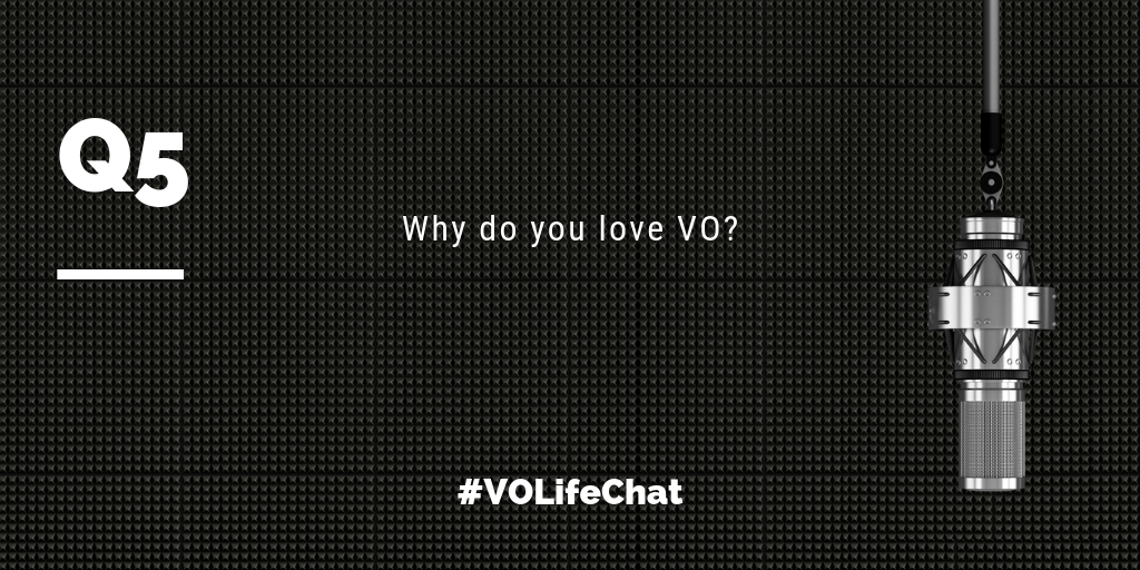 Question 5- Why do you love VO?