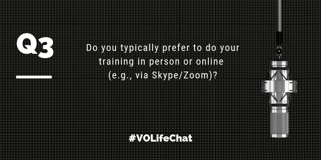Question 3. Do you typically prefer to do your training in person or online