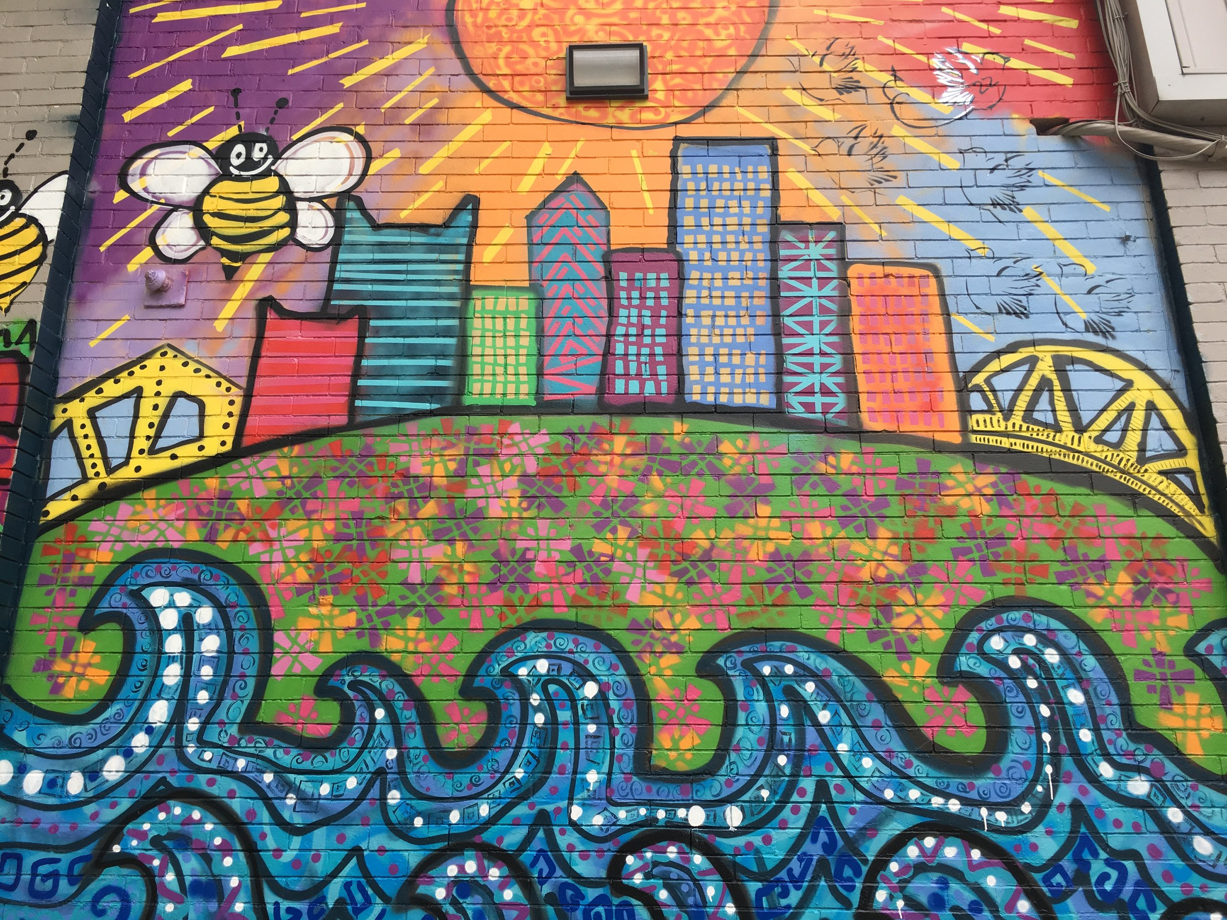LaScolas Highland Park Ice Cream mural.JPG