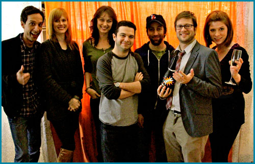 Pop My CulturePMC 31 (Part 2) Pop My Cork: The Year In Review(January 9th, 2011) - Cole, Vanessa, and five fantastic returning guests–Simon Helberg (The Big Bang Theory), Samm Levine (Freaks and Geeks), Danny Pudi (Community), Deanna Russo (Knight Rider), and Janet Varney (Dinner and a Movie)–talk about their favorite and least-favorite things of 2010 in this high-spirited and, uh, MUCH-spirited special episode, presented in two parts!