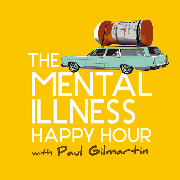 The Mental Illness Happy Hour with Paul GilmartinEpisode 1: Janet Varney(March 26th, 2011) - Paul interviews his Dinner and a Movieco-host Janet Varney about her battles with anxiety, depression food and panic attacks. Listen as one people-pleaser interviews another! Enjoy Janet parrying a compliment coming her way! En grade! Be sure to listen to Janet's podcast the J.V. Club.
