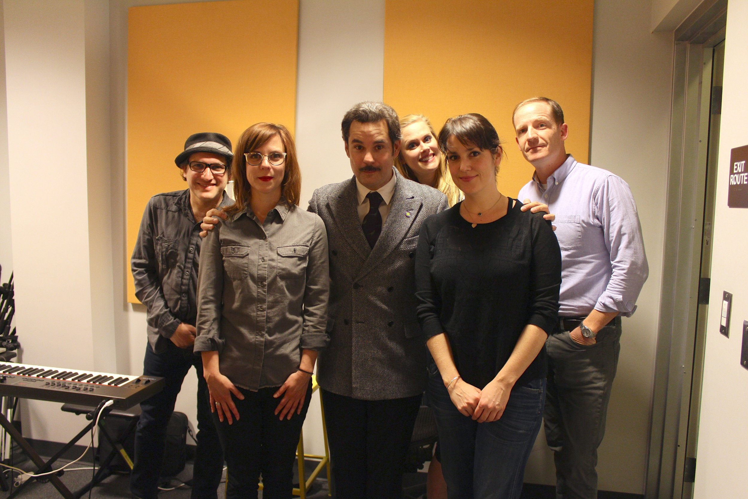 """Spontaneanation with Paul F. Tompkins#4 Savannah, Georgia(April 20th, 2015) - Paul F. Tompkins invites all you wondrous humans to Spontaneanation, and this week he is joined by special guest Melanie Lynskey of HBO's Togetherness! They chat about dropping out of college, what New Zealand looks like from space, and being humiliated in school because of the Australian song """"Tie Me Kangaroo Down, Sport."""" Paul is then joined by improvisers Sarah Burns, Marc Evan Jackson, and Janet Varney,to improvise a story set in Savannah, Georgia. As always, the terrific Eban Schletter scores it all on piano. Celebrate 4/20 by traveling to beautiful Savannah, Georgia and beyond with us!"""