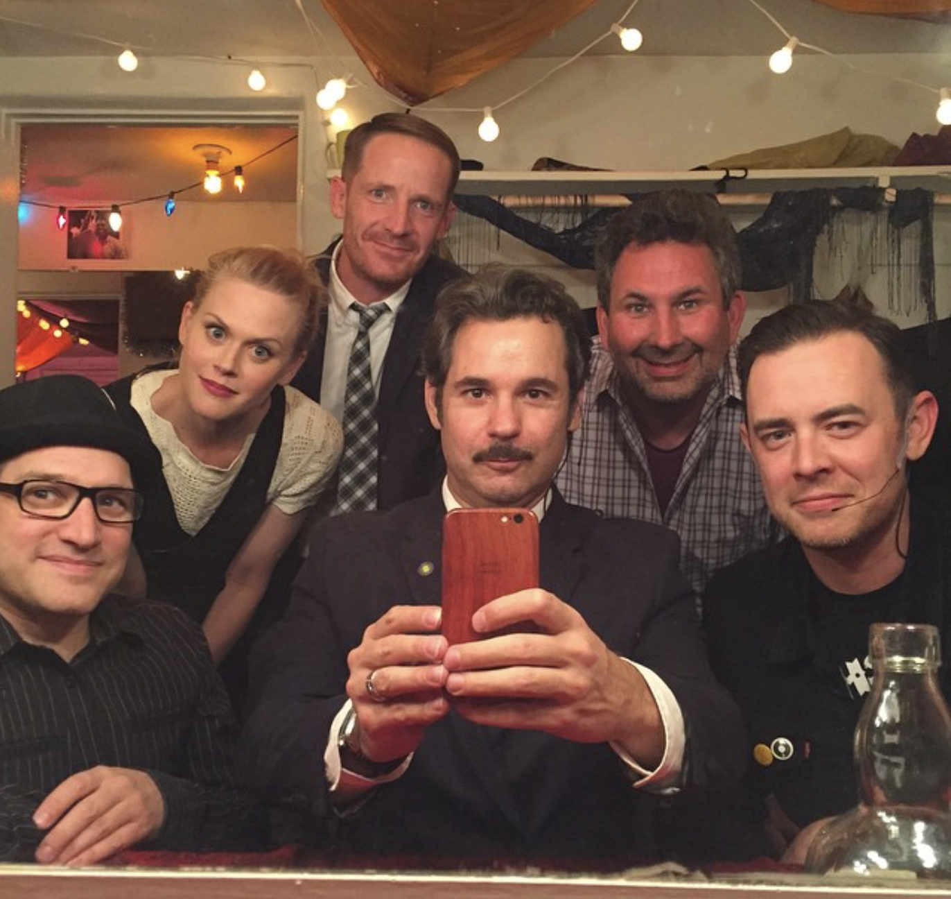 Spontaneanation with Paul F. Tompkins#13 A Dental Convention in Scottsdale, Arizona: Live from Largo(June 22nd, 2015) - Paul F. Tompkins welcomes Los Angeles AND the internet to the first LIVE episode of Spontaneanation recorded at the world-famous Largo at The Coronet!This time Paul's special guest is actor Colin Hanks of Orange County &Fargo! They chat about why Colin chose to wear the outfit he had on that night, feeling awkward at a fancy buffet inside Dodger's Stadium, and his personal high school uniform. Paul is then joined by Spomtaneanation all-stars Craig Cackowski, Marc Evan Jackson, and Janet Varney to improvise a story set at a Dental Convention in Scottsdale, Arizona (on the hottest day of the year). As always, the miraculous Eban Schletter scores it all on piano!