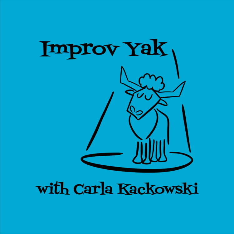 Improv Yak with Carla Cackowski#10 Janet Varney – Vulnerability(November 18th, 2015) - In Episode 10 of Improv Yak, Janet Varney discusses vulnerability in improv and the ins and outs of producing the San Francisco Sketchfest.This is a special 2-part episode, continued on episode #179 of The JV Club for a podcast mashup! Carla interviews Janet about doing improv as a teaser for Carla's new improv podcast, Improv Yak… until the proverbial tables are turned and Janet gets back to the place she feels most comfortable: asking people about their weird teen habits.