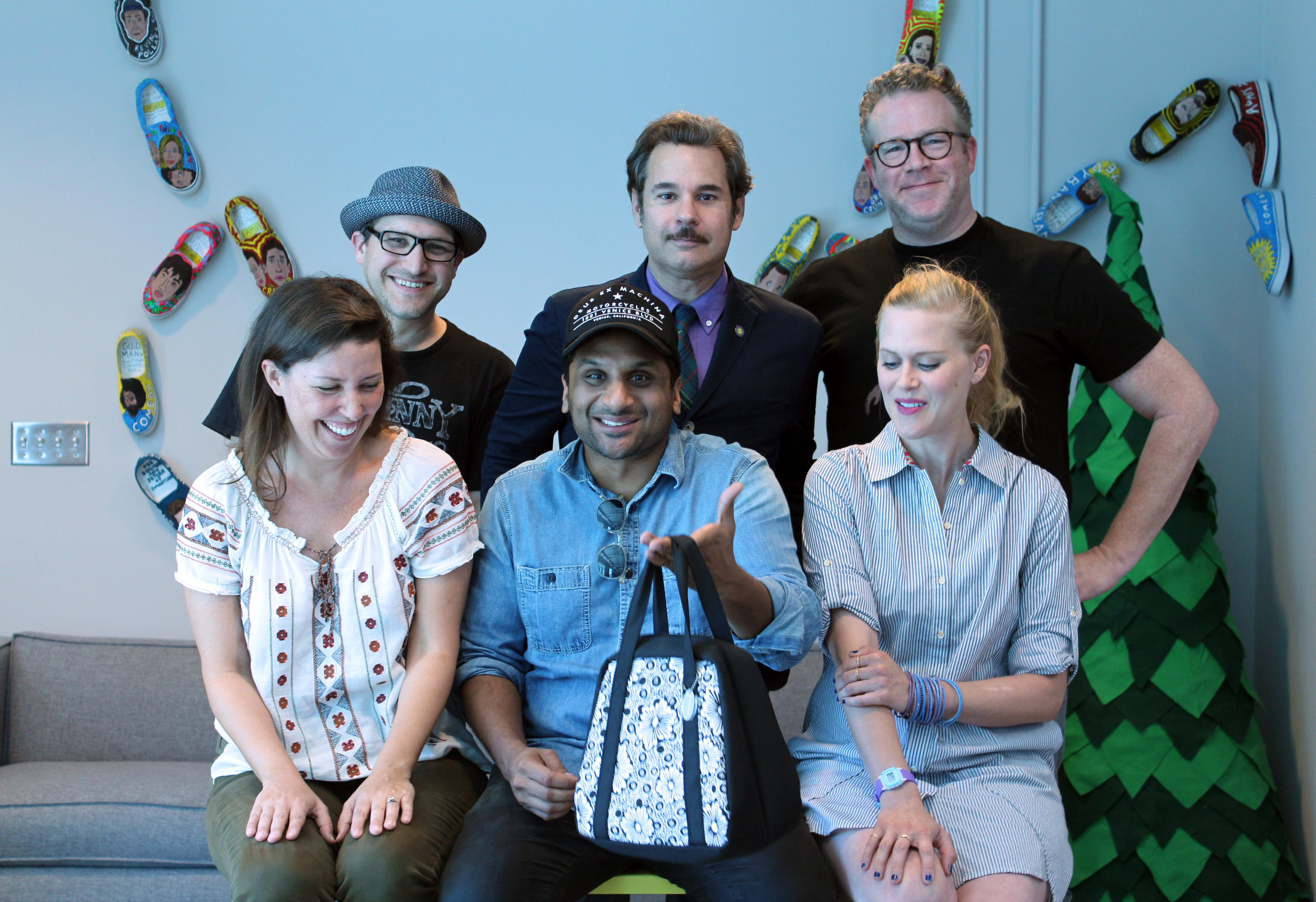 Spontaneanation with Paul F. Tompkins#39 Freeport, Illinois(December 21st, 2015) - Paul F. Tompkins welcomes everyone to unwrap the Christmas gift of a new SPONTANEANATION! This week, Paul's special guest is Ravi Patel of Grandfathered and Meet the Patels! They chat about Ravi's secret girlfriend, what's going on with Mario Lopez, and the difficulty of taking compliments. Paul is then joined by Janet Varney, Chris Tallman, and Jean Villepique to improvise a story set in Freeport, Illinois. And as always, Eban (only the best) Schletter scores it all on piano!