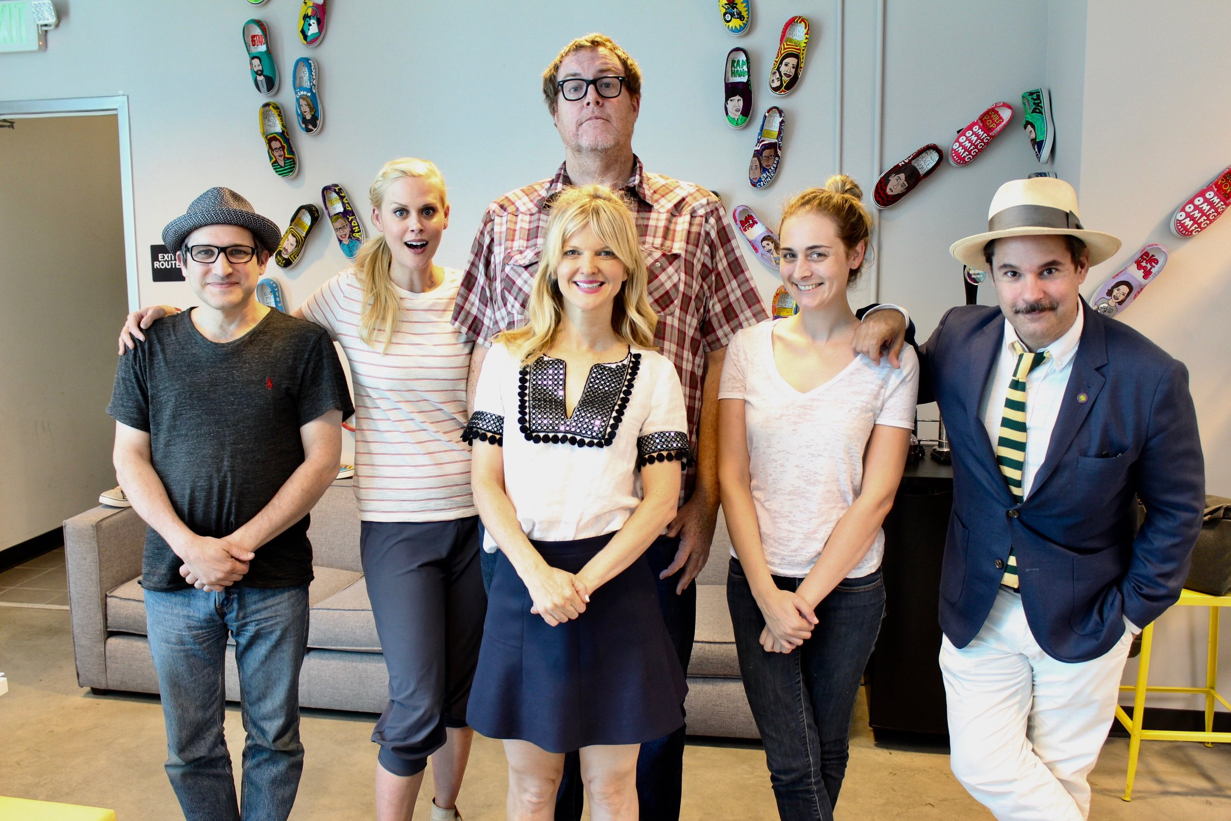Spontaneanation with Paul F. Tompkins#131 Tommy Bahama Store(September 25th, 2017) - Paul F. Tompkins slowly eases listeners into this week's Spontaneanation! This time out, Paul's special guest is Arden Myrin of MADtv, Shameless, and Will You Accept This Rose! They chat about the last time Arden pretended to know something, just starting to tell the truth after realizing she was lying all the time, and learning some stuff way too soon from her sex-ed teacher. Then, they are joined by improvisers Maria Blasucci, Little Janet Varney, and Steve Agee to improvise a story set in a Tommy Bahama Store. And as always, Eban (only the best) Schletter scores it all on piano!