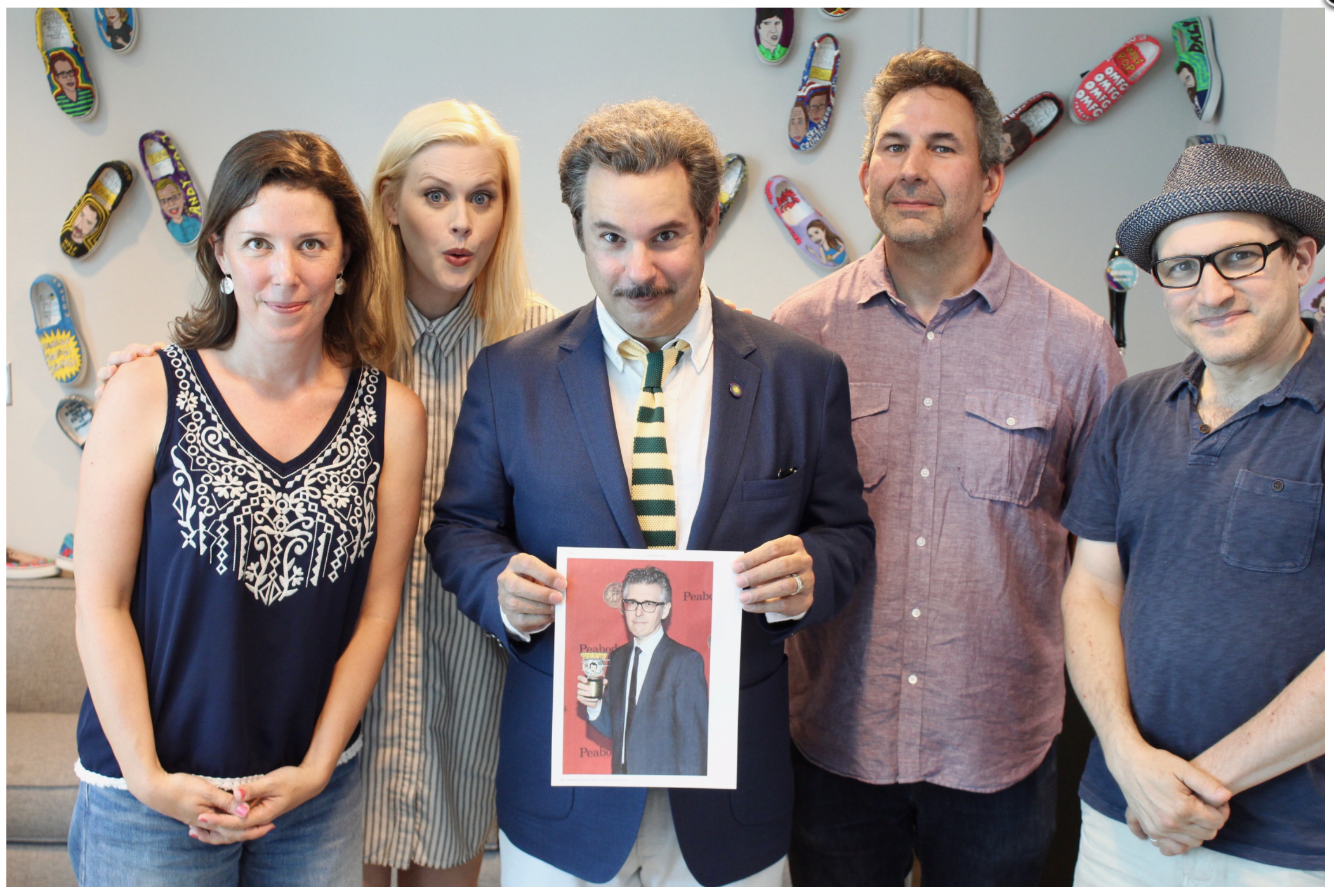 Spontaneanation with Paul F. Tompkins#124 Jury Deliberations(August 7th, 2017) - Paul F. Tompkins welcomes everyone who can hear his voice on this week's Spontaneanation! This time out, Paul's special guest is This American Life host and producer Ira Glass! They chat about what memory from Ira's childhood he wishes he could change, not getting the point of drinking alcohol until he turned 30, and becoming involved with the rerelease of The Adventures of Chickenman. Paul is then joined by Little Janet Varney, Jean Villepique, and Craig Cackowski, to improvise a story set in Jury Deliberations. And as always, Eban (only the best) Schletter scores it all on piano!