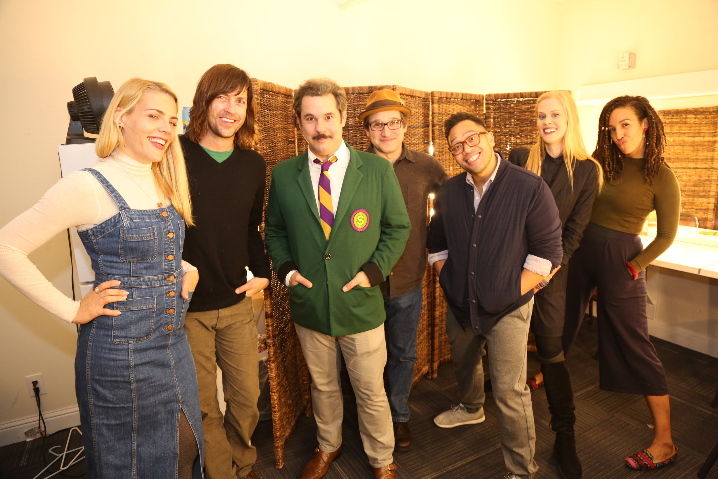"Spontaneanation with Paul F. Tompkins#101 Burmese Therapist's Office(February 27th, 2017) - Paul F. Tompkins welcomes ladies and gentlemen of San Francisco and the world to a LIVE episode of Spontaneanation, recorded at San Francisco SketchFest 2017! This week, Paul's special return and first 3-time guest is Busy Philipps of HBO's Vice Principals! They chat about whether or not Busy considers herself a ""bad girl,"" the unusual way Busy found her therapist,, and teaching children about the weirdness that they may come across on the internet. Paul is then joined by Eugene Cordero, Tawny Newsome, and Little Janet Varney to improvise a story set in a Burmese Therapist Office. And as always, Eban (only the best) Schletter scores it all on piano!"