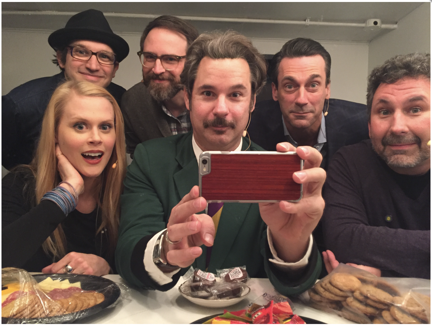 Spontaneanation with Paul F. Tompkins#60 Storm Drain Live from SF Sketchfest(May 16th, 2016) - Paul F. Tompkins welcomes ladies or gentlemen to a LIVE episode of Spontaneanation, recorded at San Francisco SketchFest 2016! This week, Paul's special guest Jon Hamm of Mad Men! They chat about what book inspired Jon as a child, questionable babysitting tactics, and being pro- or anti-possum. Paul is then joined by Craig Cackowski, Matt Gourley, and Little Janet Varney to improvise a story set in a Storm Drain. And as always, Eban (only the best) Schletter scores it all on piano!