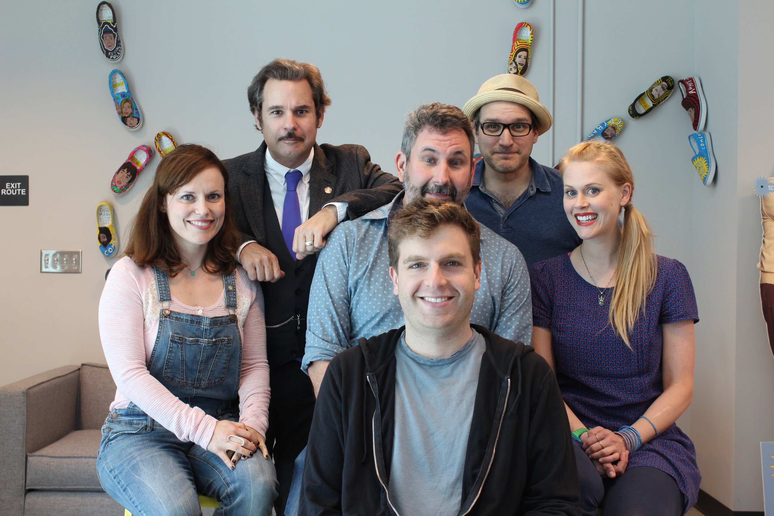 "Spontaneanation with Paul F. Tompkins#47 Pediatrician's Office(February 15th, 2016) - Paul F. Tompkins welcomes everyone who took the time to stream, download, or overhear SPONTANEANATION! This week, Paul's special guest is Midroll CEO and The Wolf Den host Adam Sachs! They chat about baseball, how much brain space is needed to know three languages, and ""the rules of the road"" in India. Paul is then joined by Carla Cackowski, Craig Cackowski, and Little Janet Varney to improvise a story set in a Pediatrician's Office. And as always, Eban (only the best) Schletter scores it all on piano!"