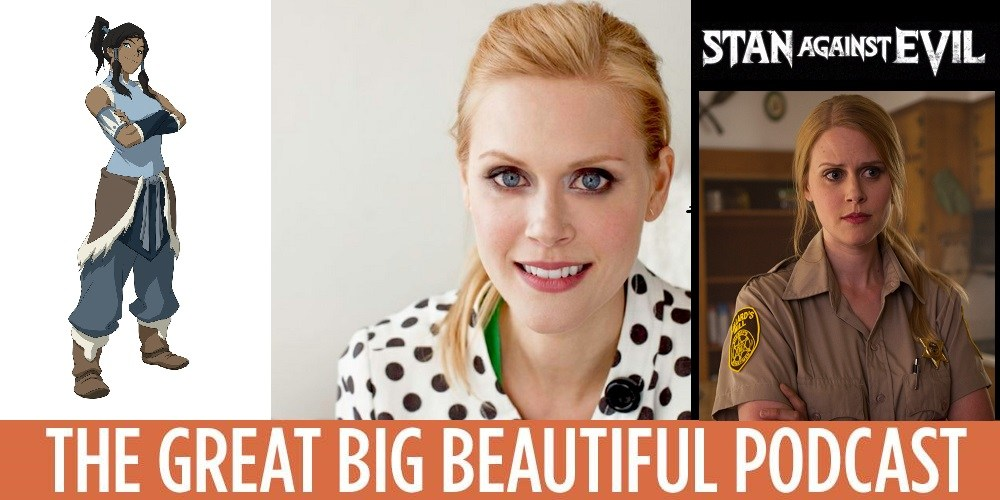 The Great Big Beautiful PodcastGBBP 143: Janet Varney(September 12th, 2017) - After our summer hiatus, The Great Big Beautiful Podcast is back on the air, and we're thrilled to return with the amazing Janet Varney!Varney is, hands down, one of the hardest-working women in show business. Animation fans know her as the voice of Korra on Nickelodeon's The Legend of Korra. Comedy fans know her from her stand up, Thrilling Adventure Hour, and SF Sketchfest. Podcast fans know her show The JV Club. Quirky sketch comedy fans probably know Neil's Puppet Dreams, which she created. TV fans have been glued to the awesome Stan Against Evil.So yeah, she's kind of busy. And on this episode, we talk about all of that and more. Enjoy!