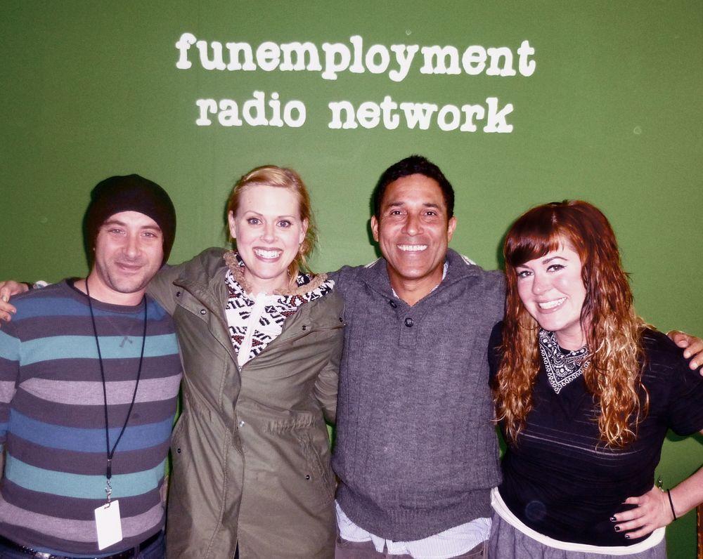 Funemployment RadioFER Bridgetown Feature 1(April 21st, 2013) - Bridgetown Comedy Festival Feature Interview with OSCAR NUNEZ & JANET VARNEY