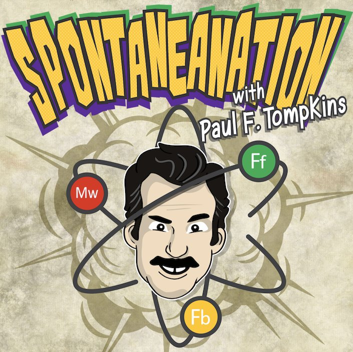 Spontaneanation with Paul F. Tompkins#144 Airport(December 25th, 2017) - Paul F. Tompkins wishes listeners a very Merry Christmas on Spontaneanation! This time out, Paul's special guests are The WorkJuice Players aka Craig Cackowski, Mark Gagliardi, Marc Evan Jackson, Hal Lublin, Annie Savage, and Little Janet Varney. Everyone then shares which exotic pet they would choose between a Macaw, Tortoise, Boa, and Alpaca. Then, they all improvise a story set in an Airport. And as always, Eban (only the best) Schletter scores it all on piano!