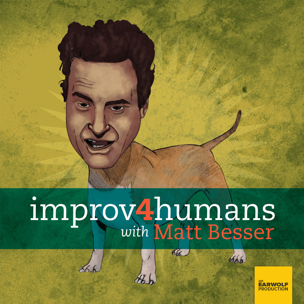 Improv4humans with Matt Besser#341 St. Lenox and the Pool With Lips(May 2nd, 2018) - Musical guest St. Lenox joins improvisers Paul F. Tompkins, Seth Morris, and Janet Varney for this week's improv4humans! St. Lenox plays a selection of songs that inspire scenes about a jingle karaoke bar, the ghosts of deceased authors, and law students with big dreams. Plus, they'll visit a highly advanced kindergarten before following Janet through her high school reunion.