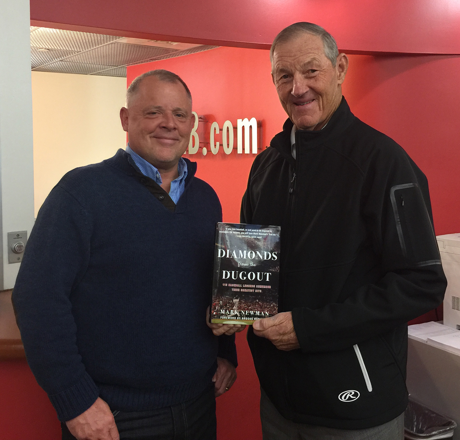 With the great Jim Kaat