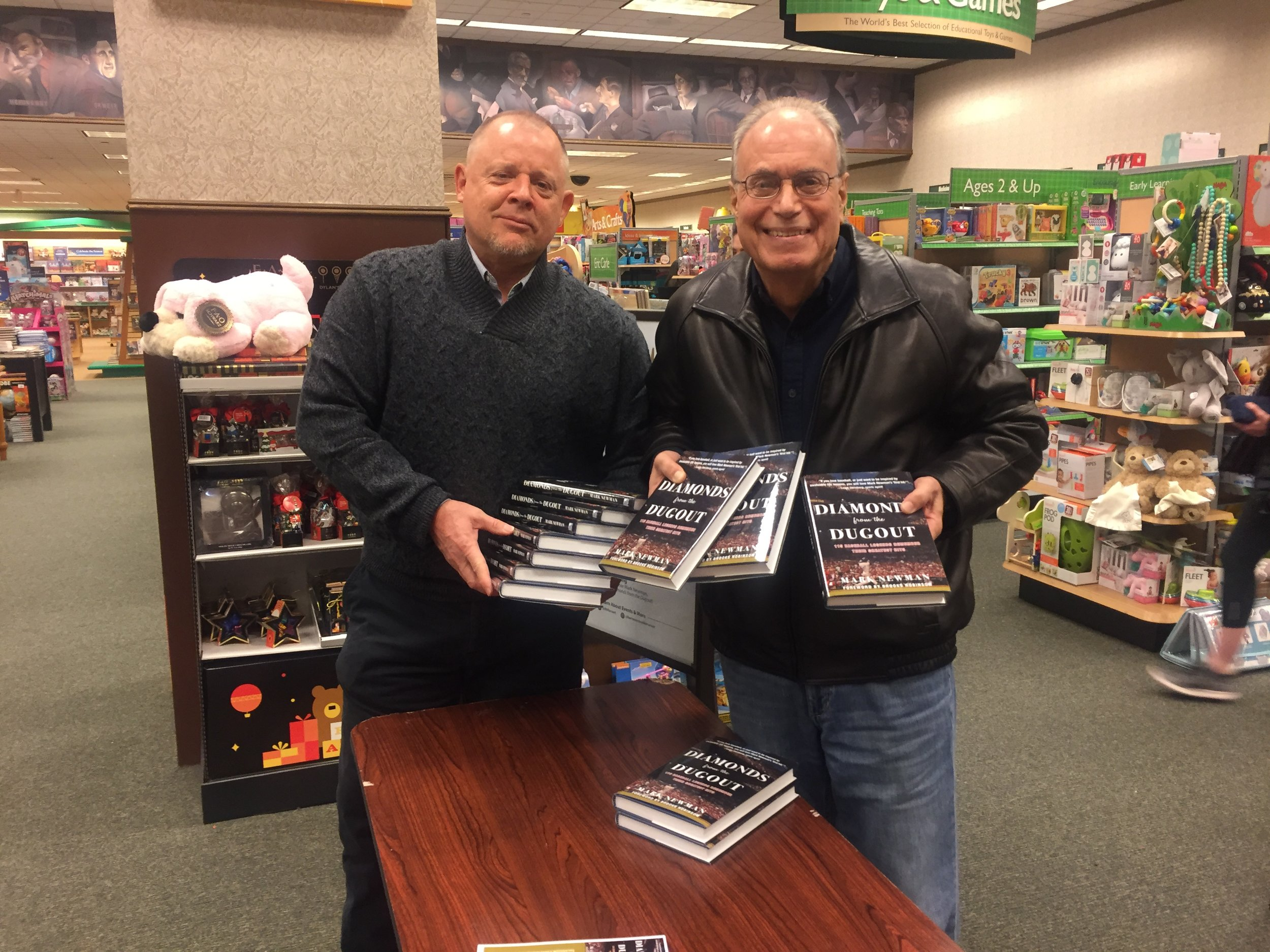With John Maiorana at BN Nanuet