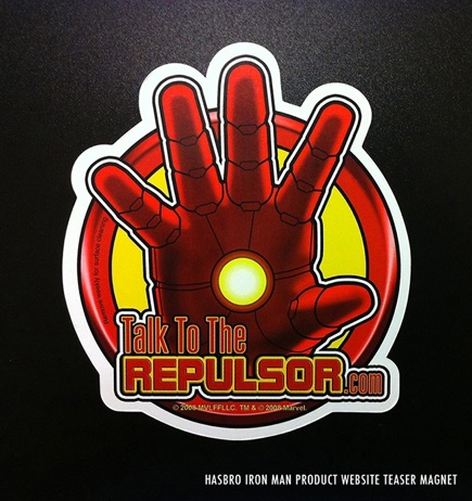 Iron Man Promotional Magnet