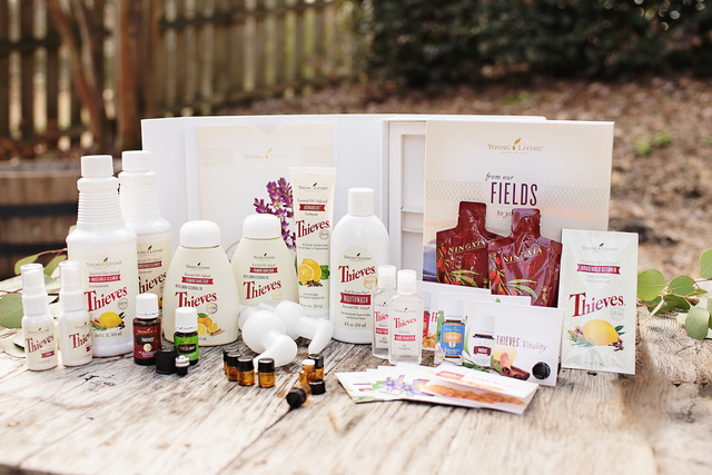 Young Living's Thieves Starter Kit