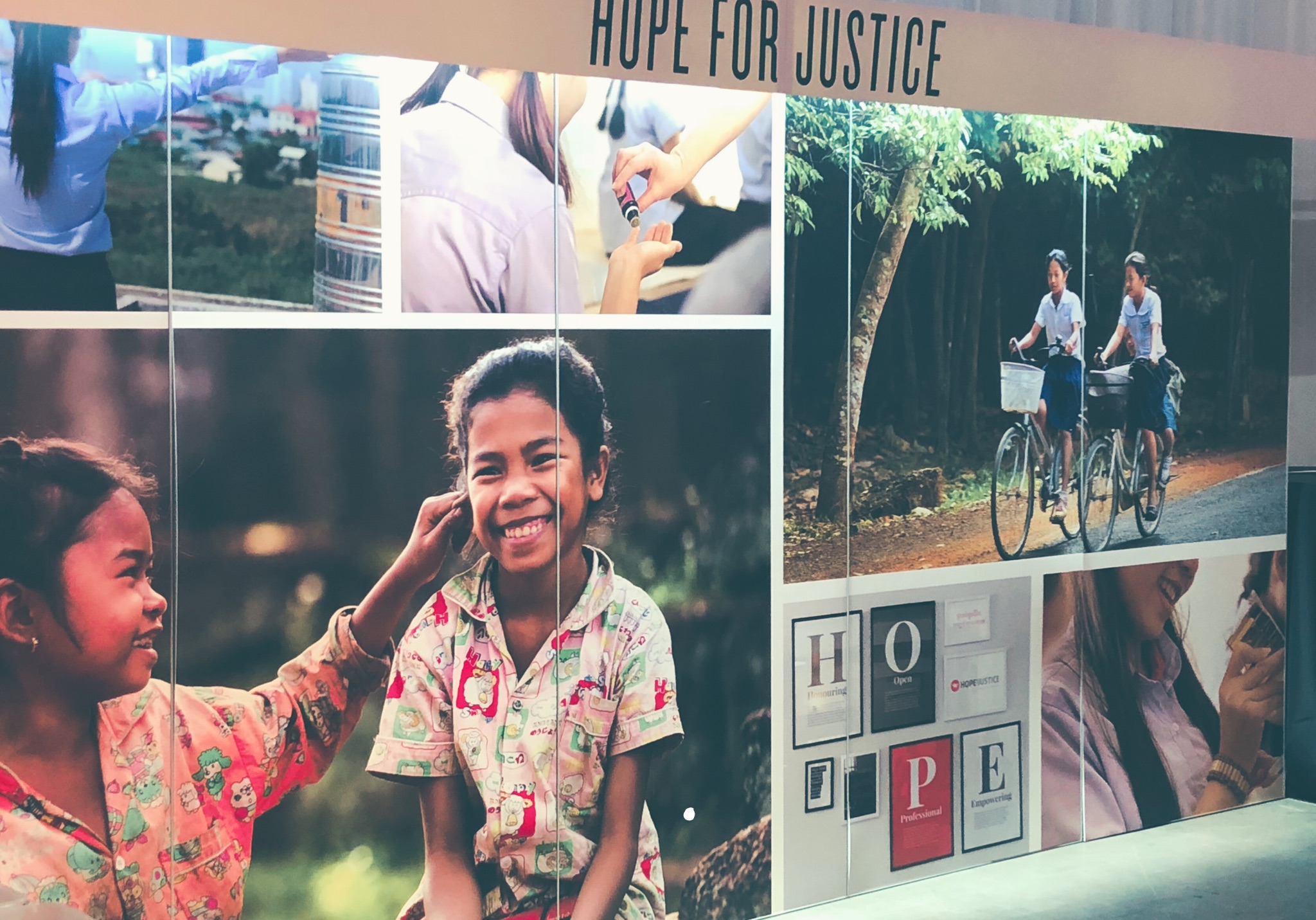 hope for justice- Young living international grand convention