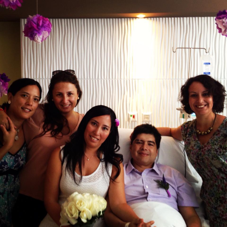 Tinkui en la boda. 2013