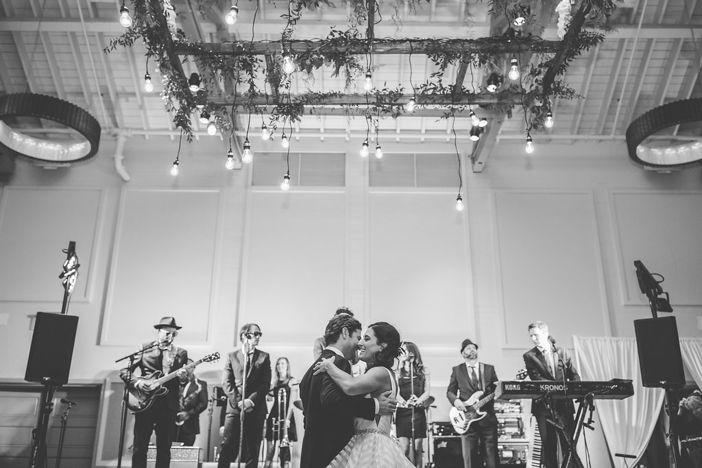 The first dance. - The magic moment is executed with grace and style, as we curate a perfectly selected song for you. From wedding classics like 'At Last' something quirky, new or contemporary -- we work closely to make this moment unforgettable.