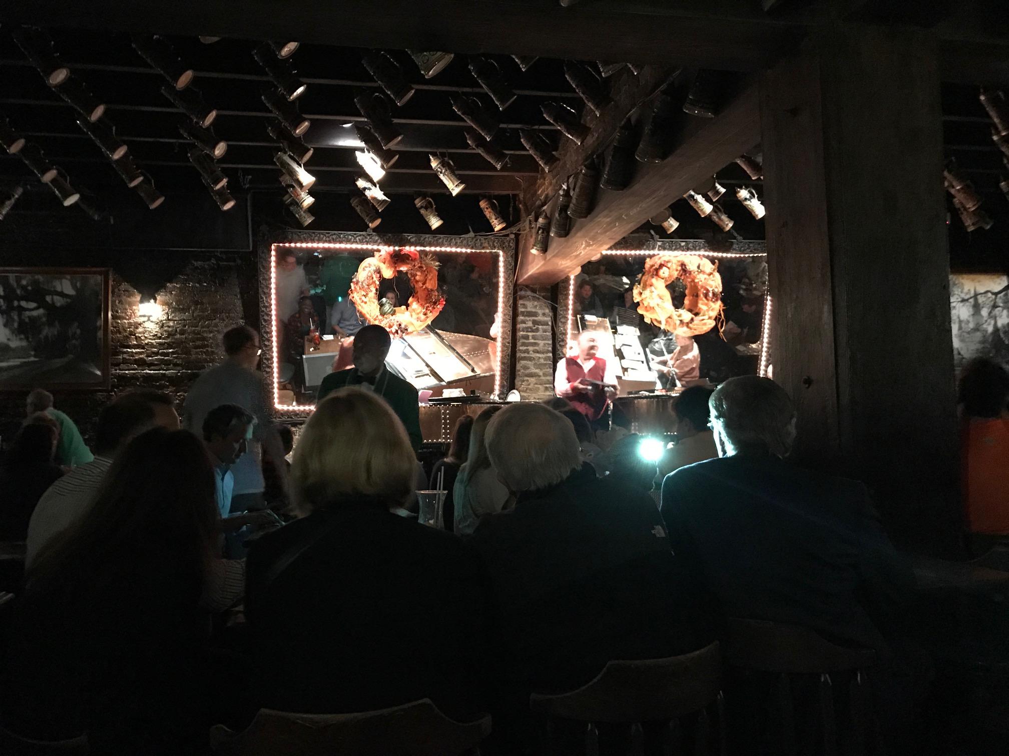 The piano bar at Pat O'Brien's