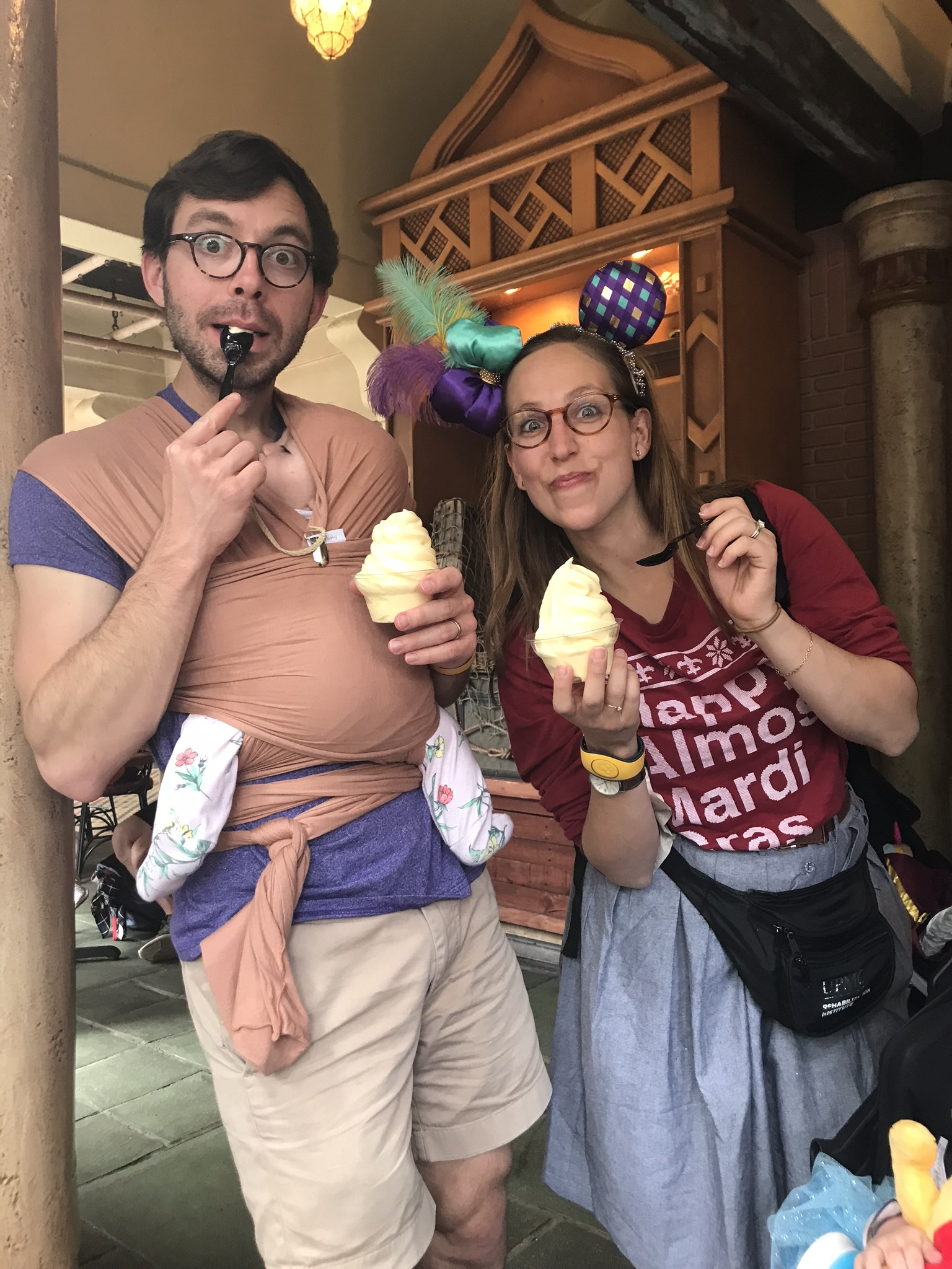 thankful that jonathan understands my attachment to dole whip