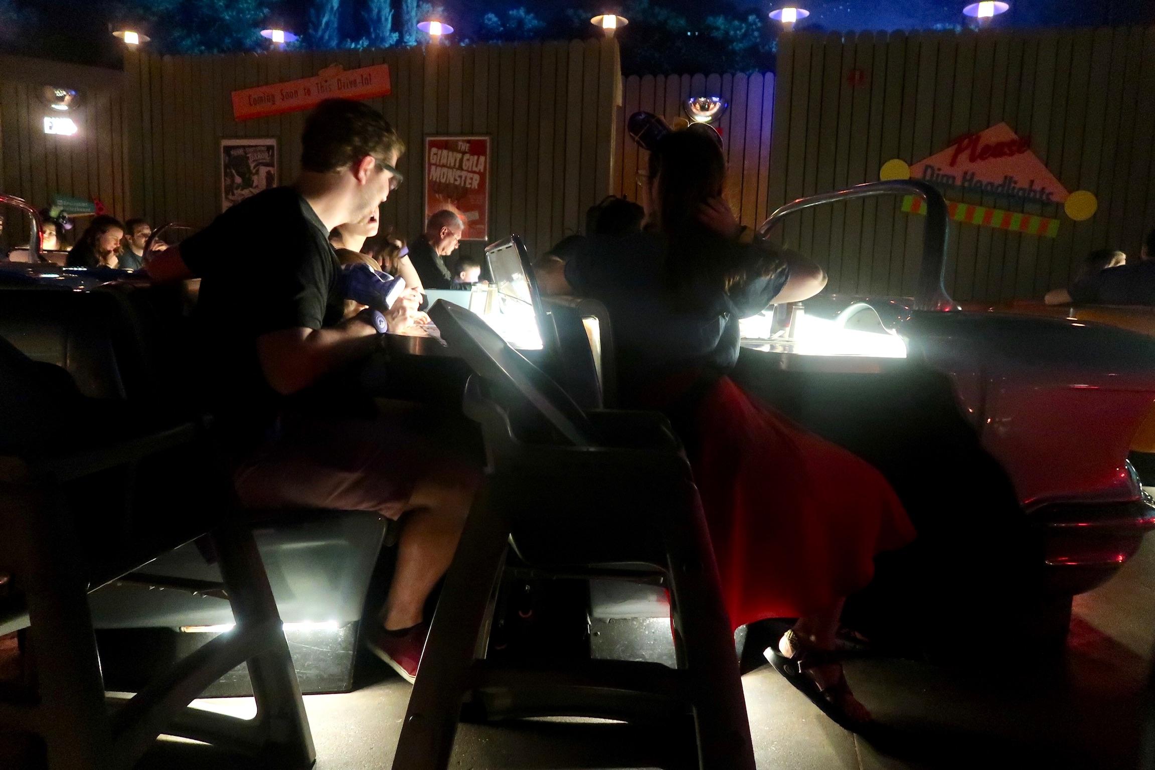 sci-fi dine in theater